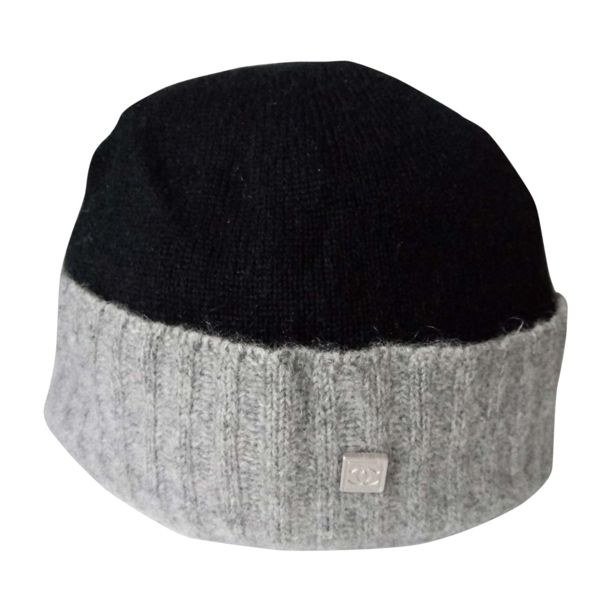 Bonnet CHANEL Noir