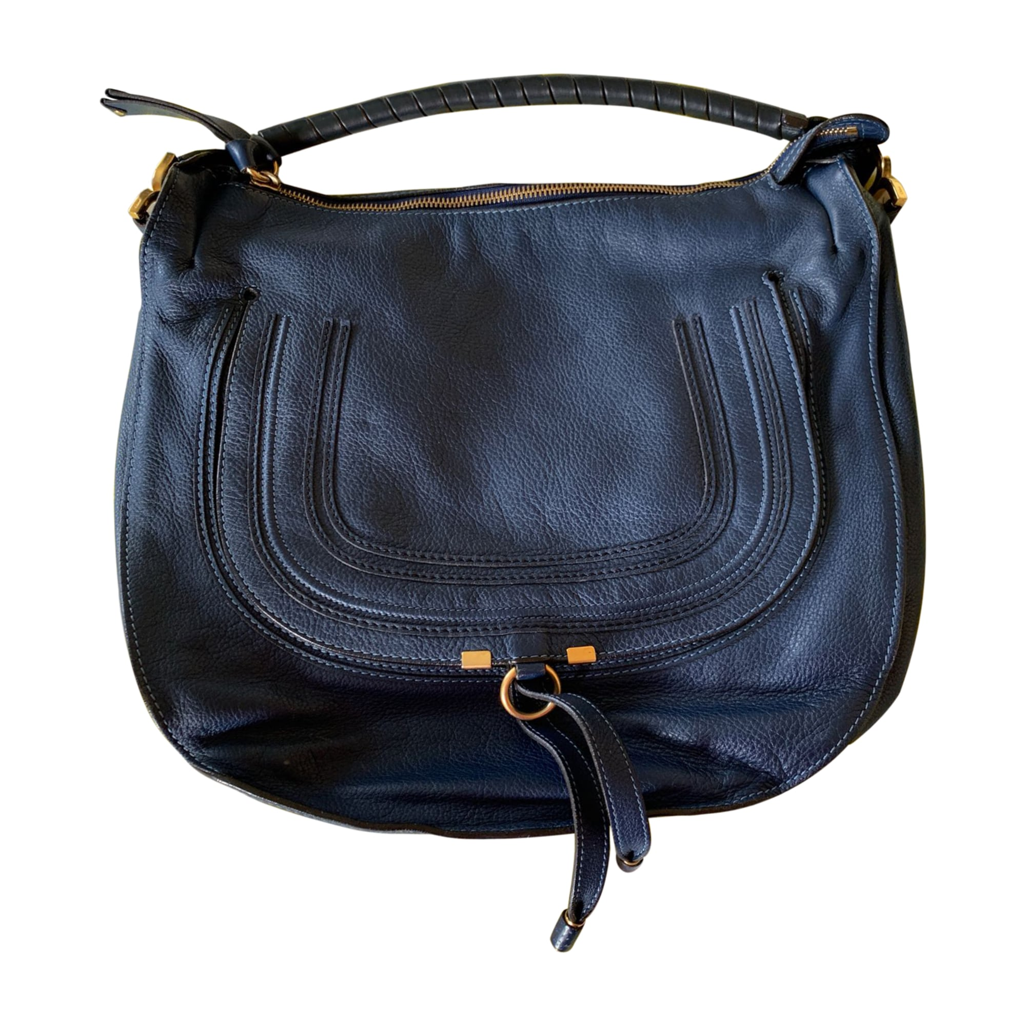 Leather Handbag CHLOÉ Blue, navy, turquoise