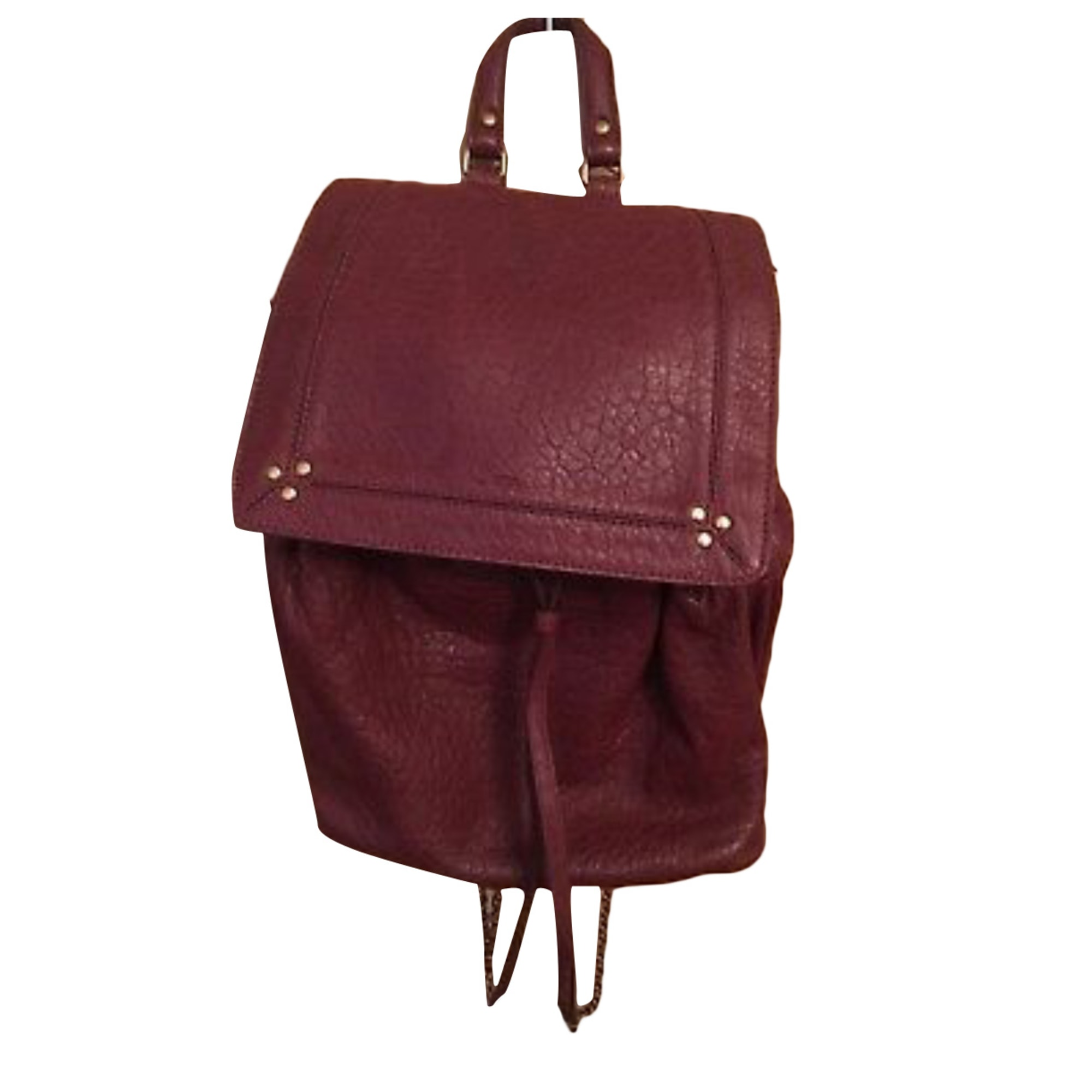 Backpack JEROME DREYFUSS Red, burgundy