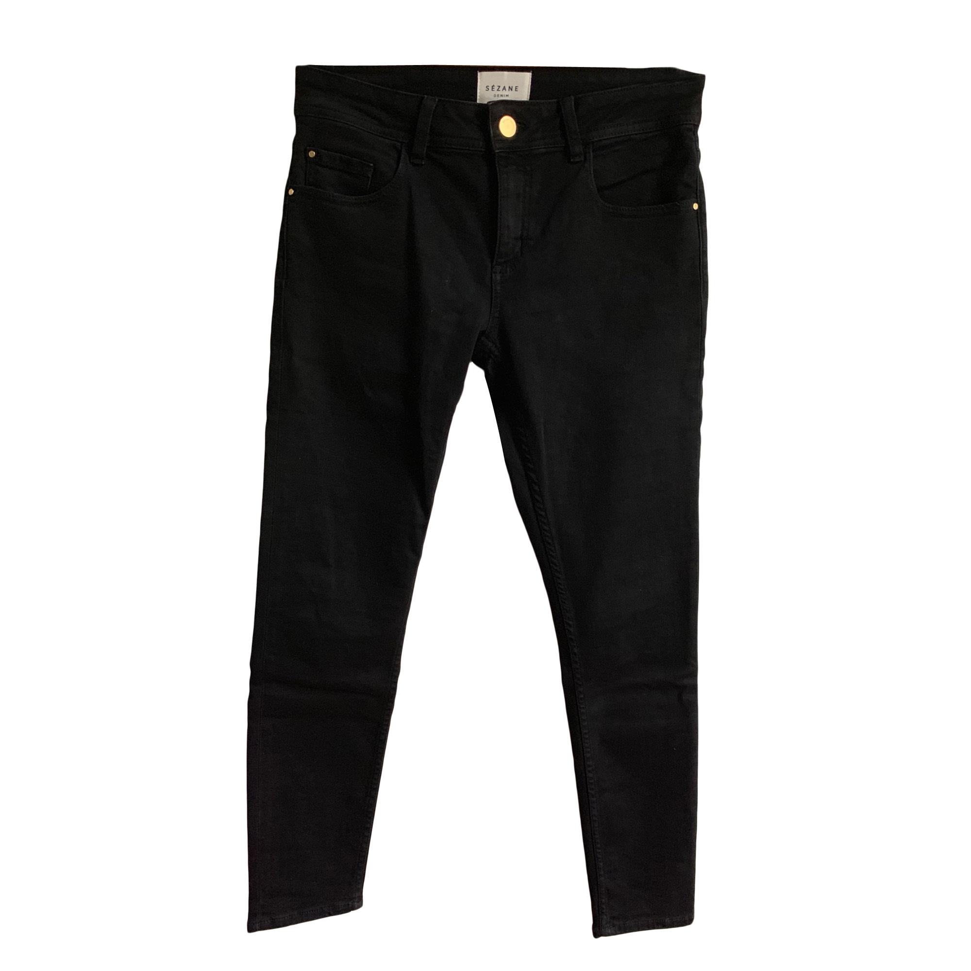 Jeans slim SÉZANE Nero