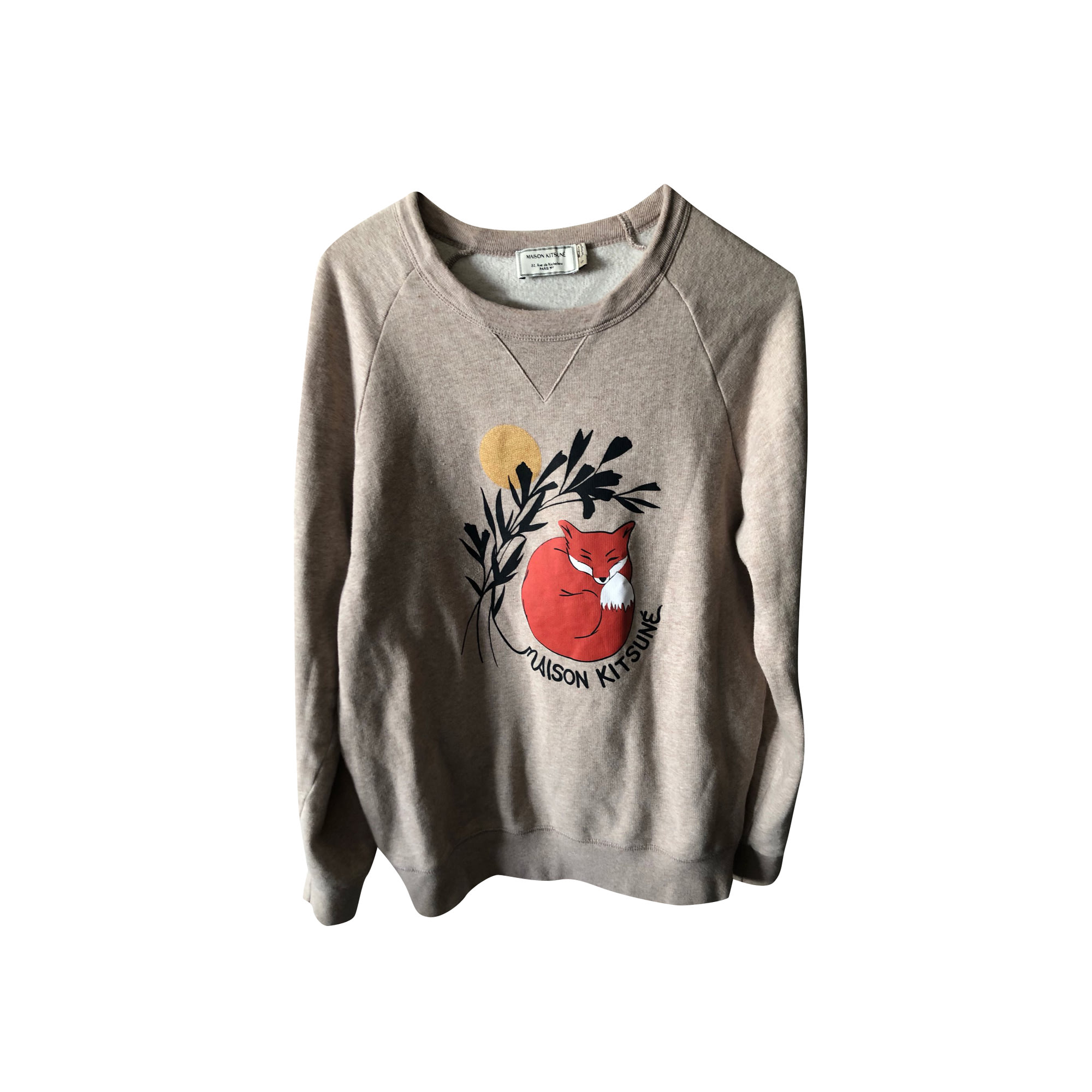 Sweatshirt MAISON KITSUNÉ Beige, camel