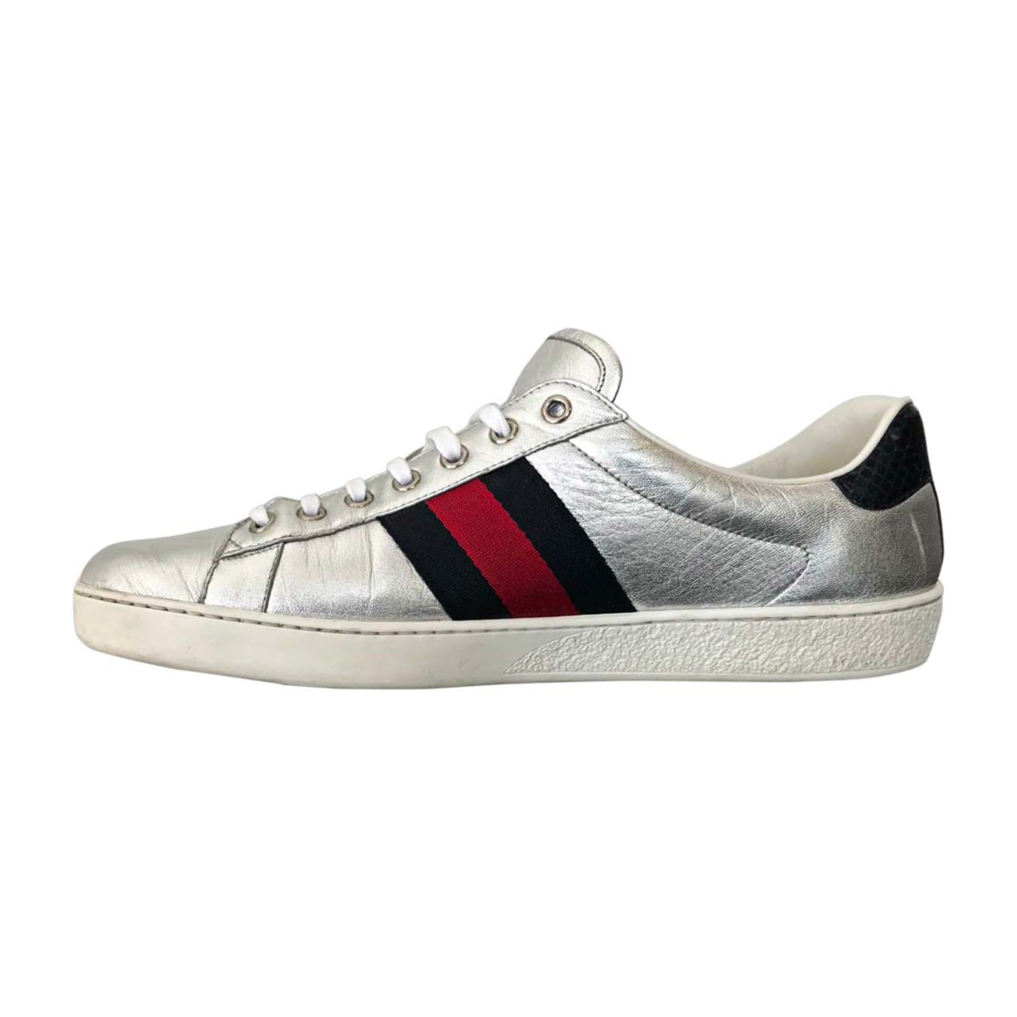 Sneakers GUCCI Ace Silver