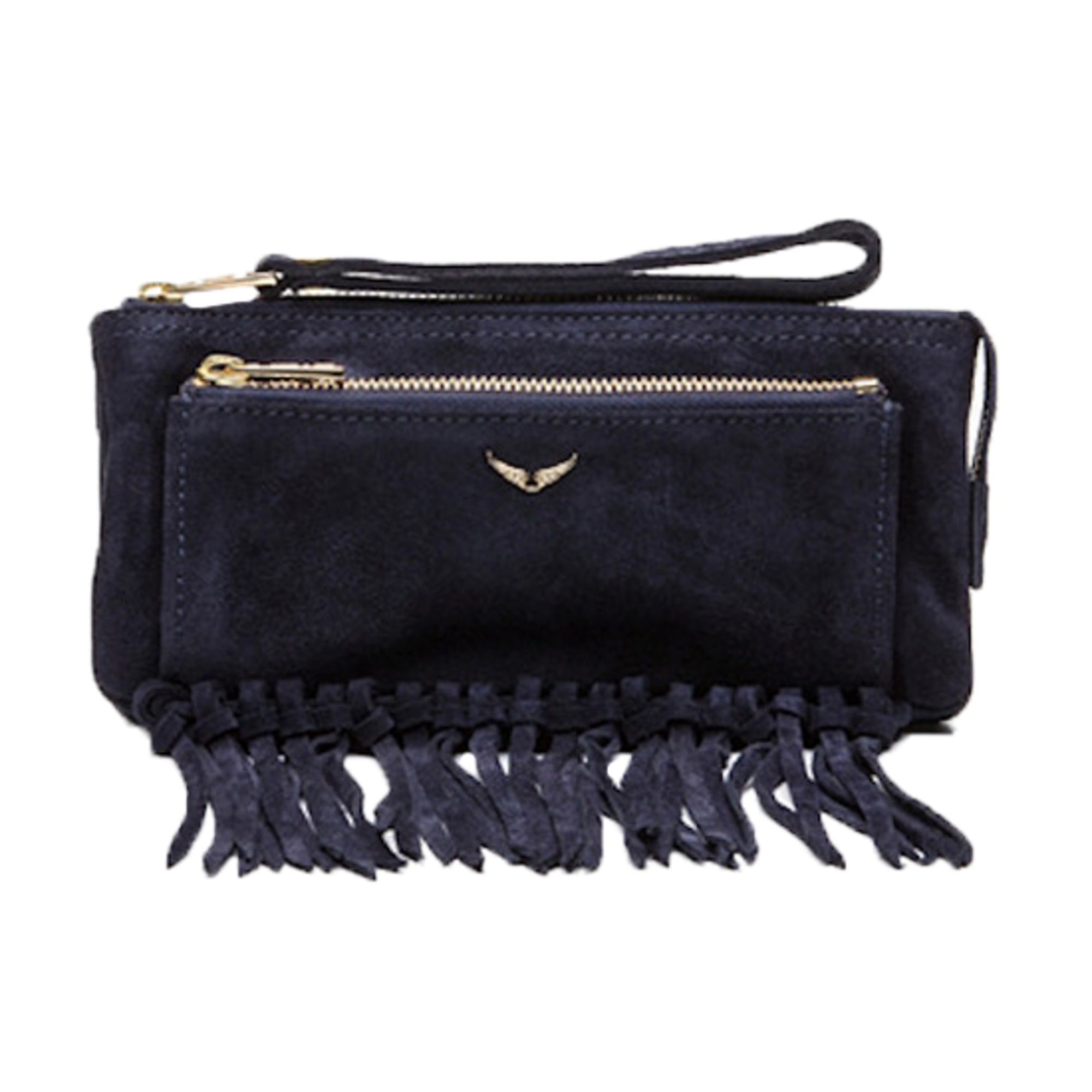 Clutch ZADIG & VOLTAIRE Blue, navy, turquoise