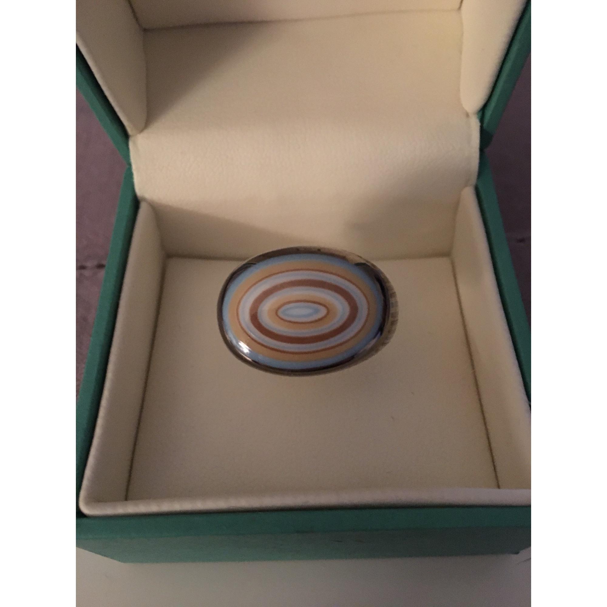 Bague BERNARDAUD porcelaine doré 54