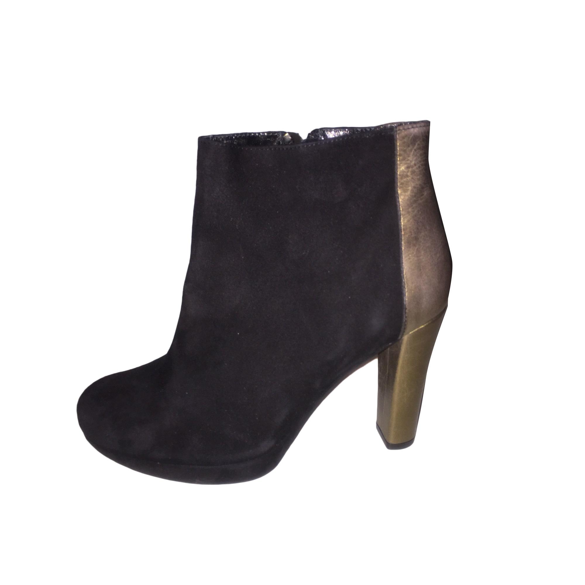Bottines & low boots à talons CHACOK Noir