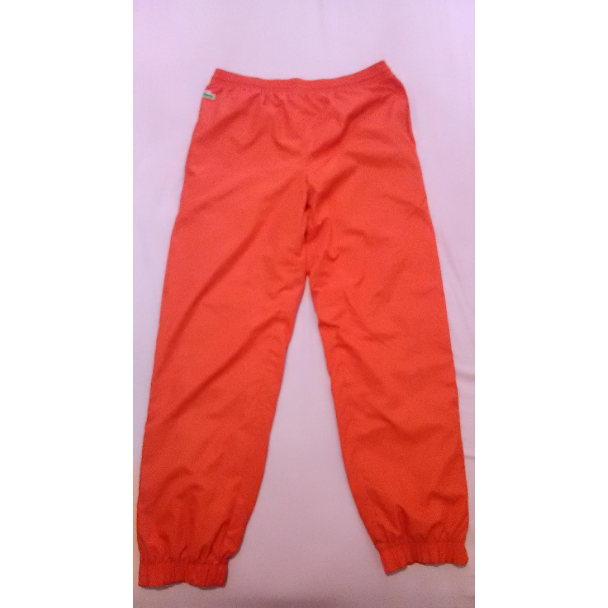 16141674ac Pantalon de survêtement LACOSTE Autre rouge/orangé - 8617378