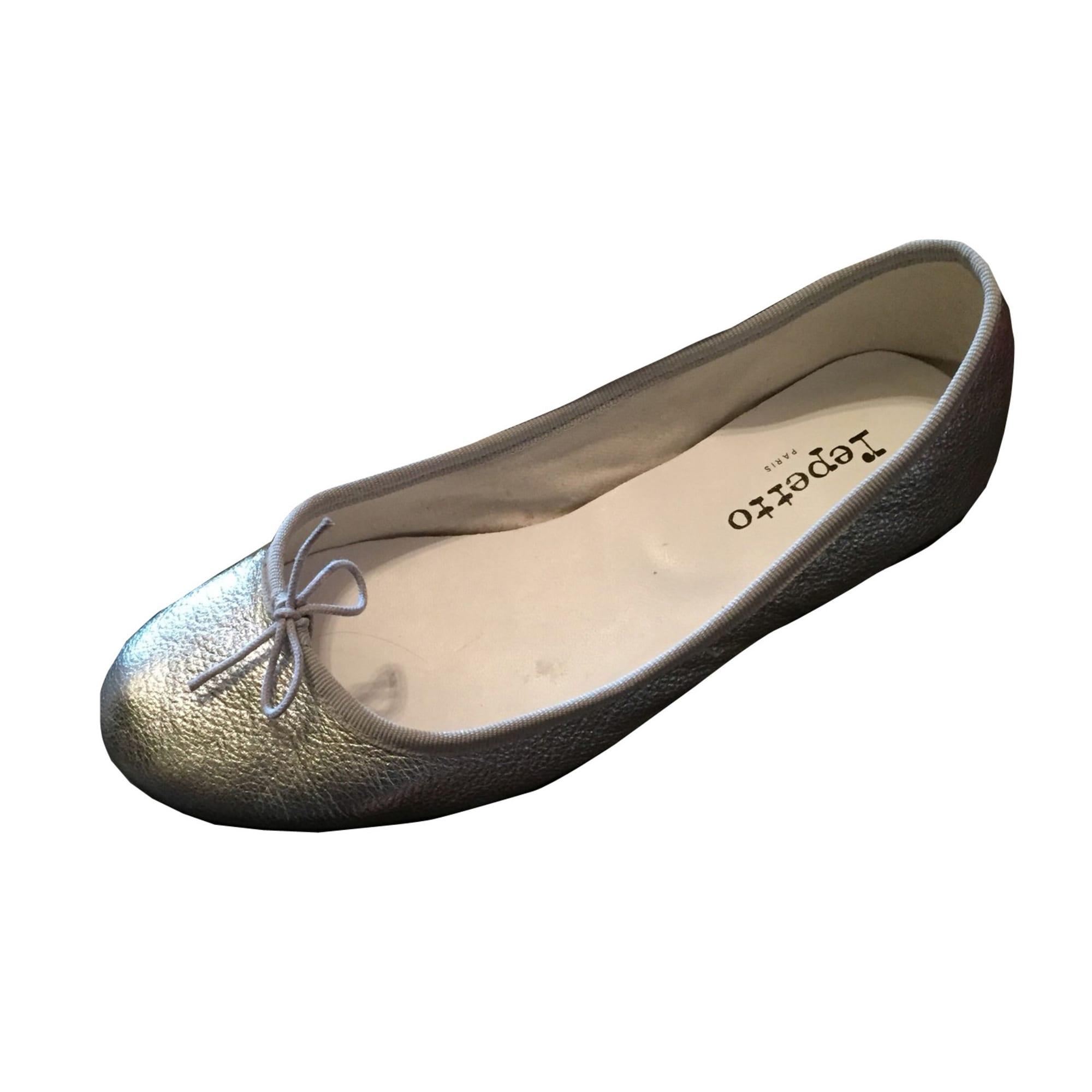 Ballet Flats REPETTO Silver