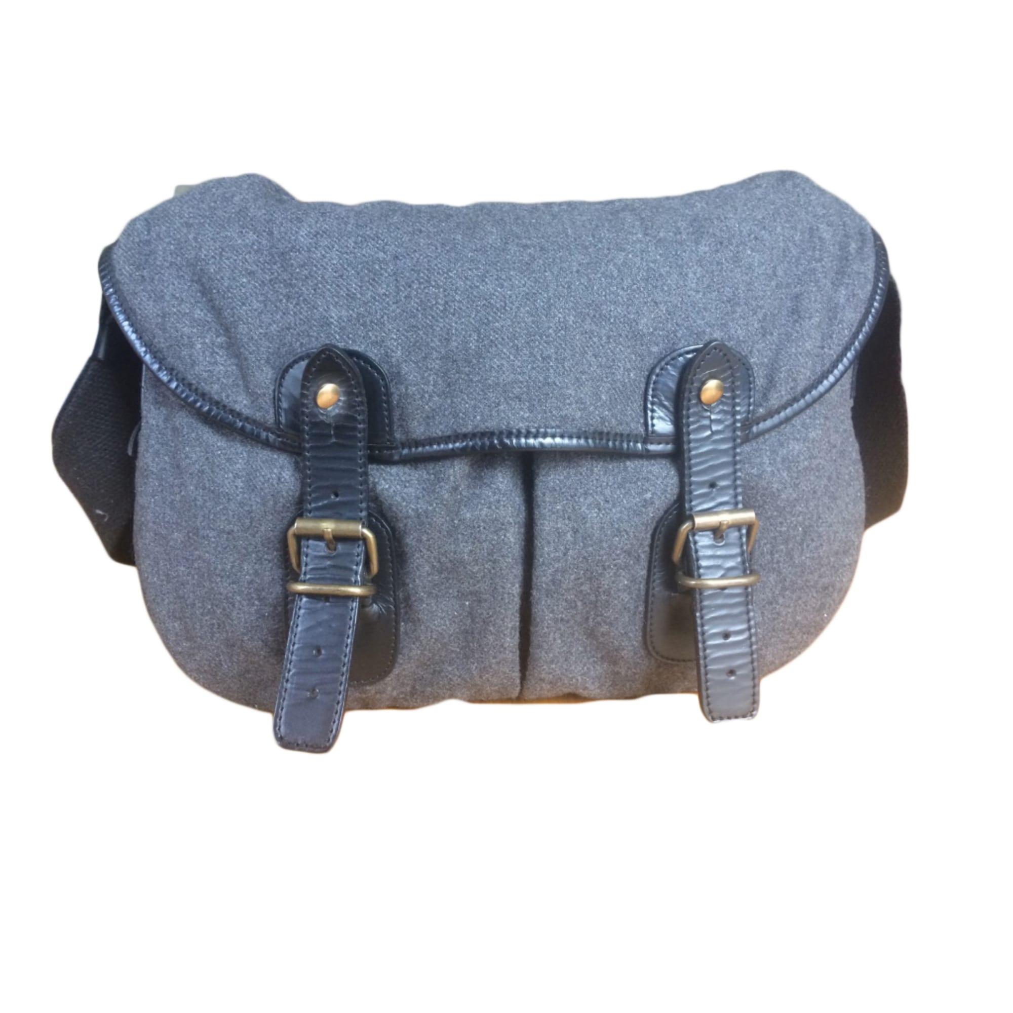 Non-Leather Shoulder Bag UPLA Gray, charcoal