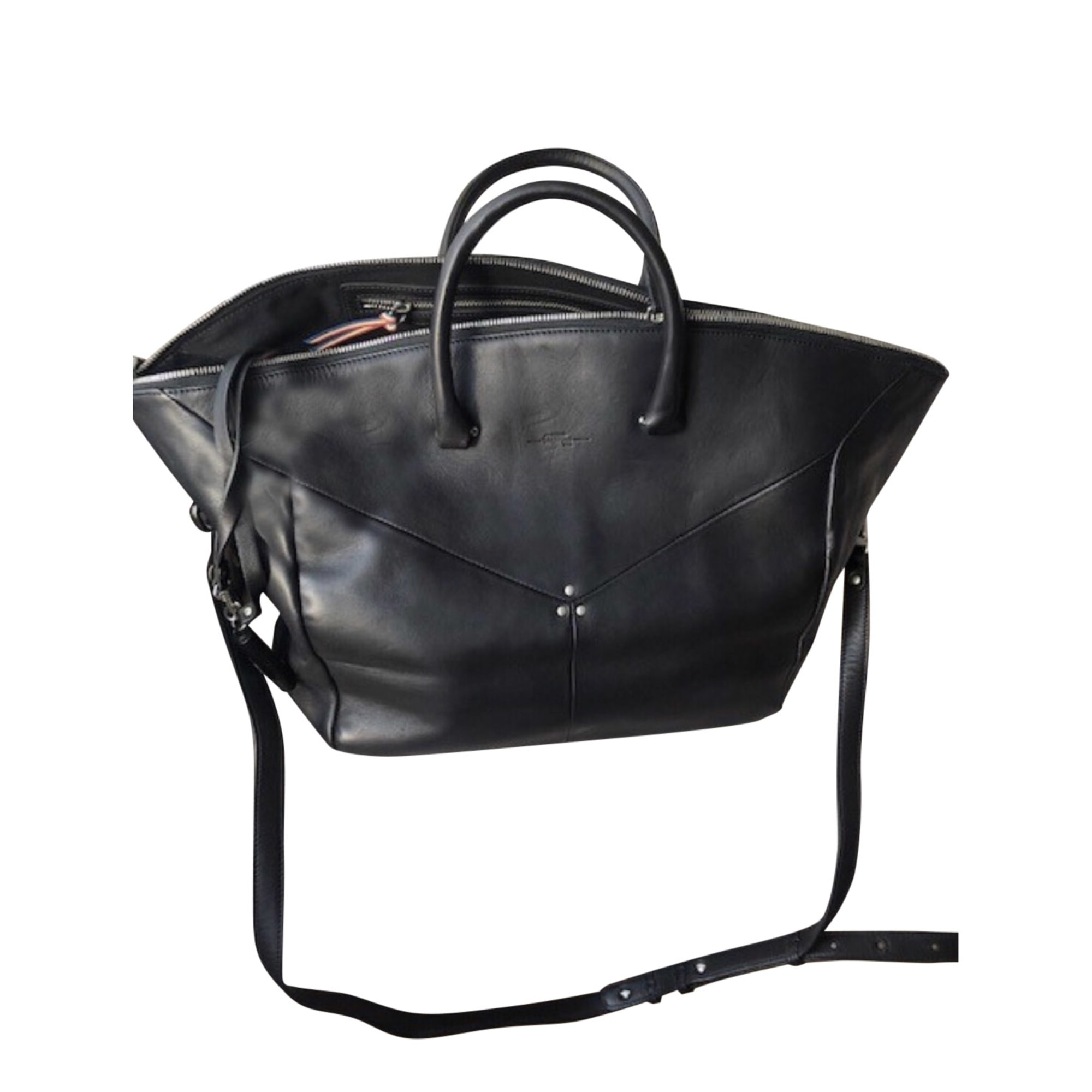 Borsa XL in pelle JEROME DREYFUSS Nero