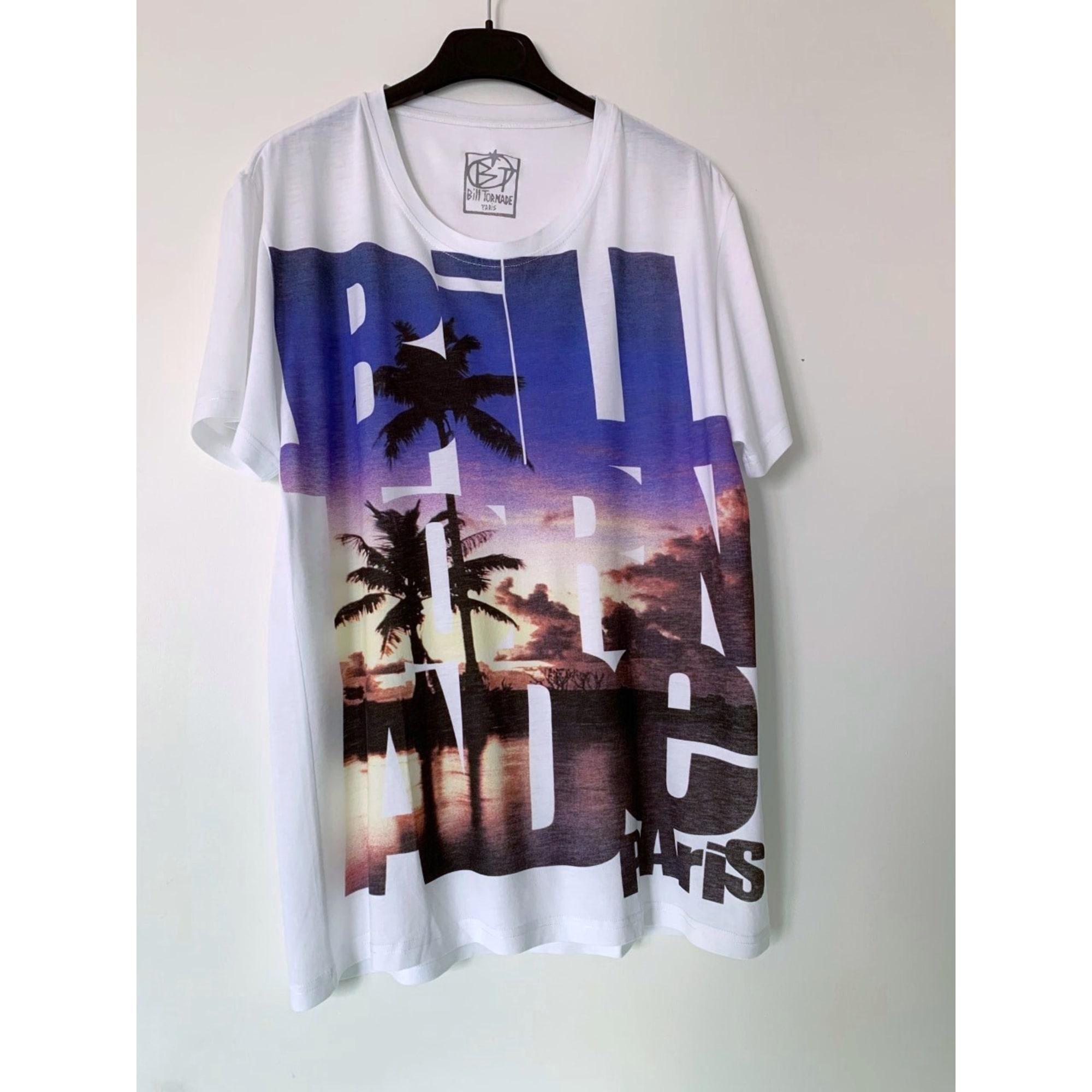 Tee-shirt BILLTORNADE Blanc, blanc cassé, écru