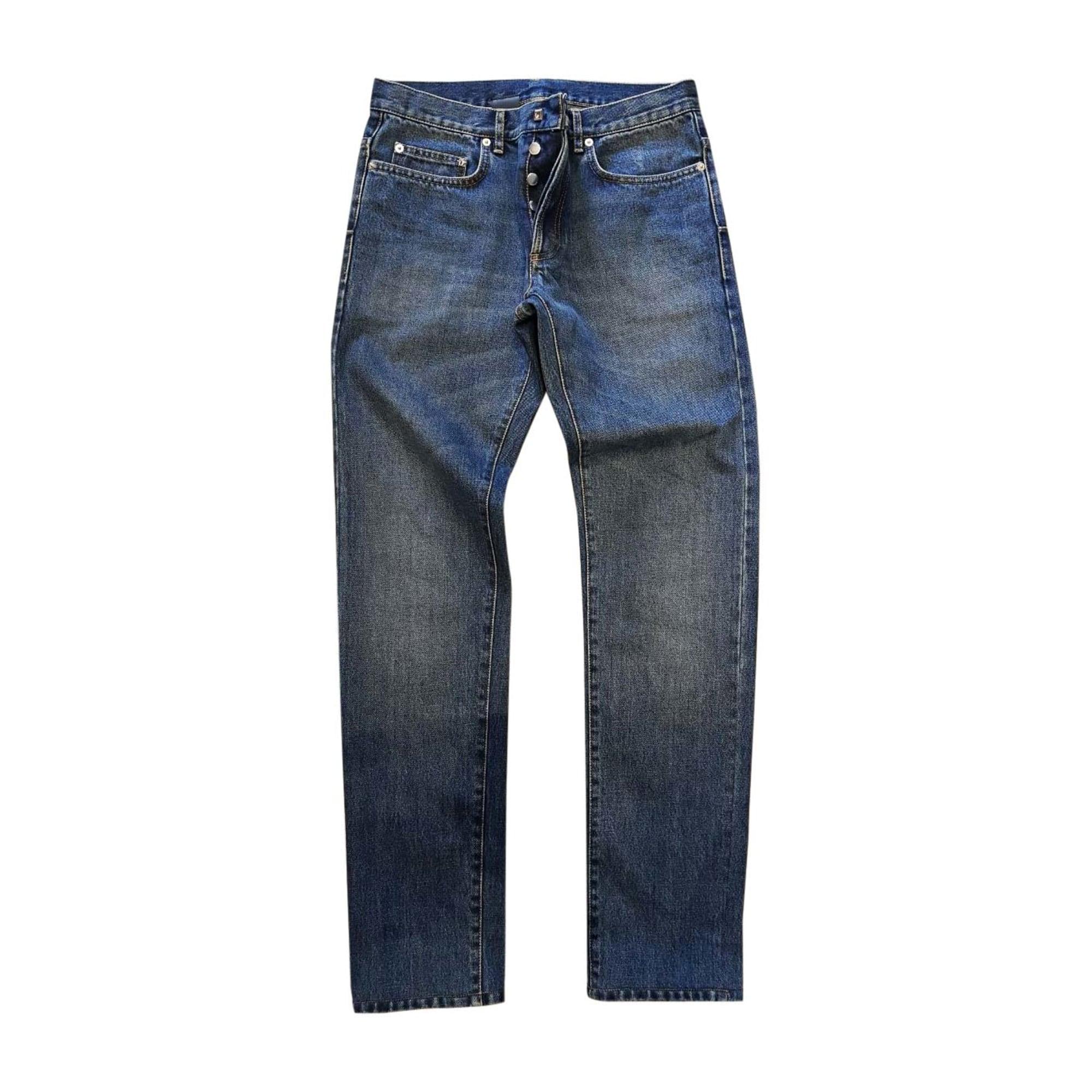Jeans slim DIOR HOMME Bleu, bleu marine, bleu turquoise