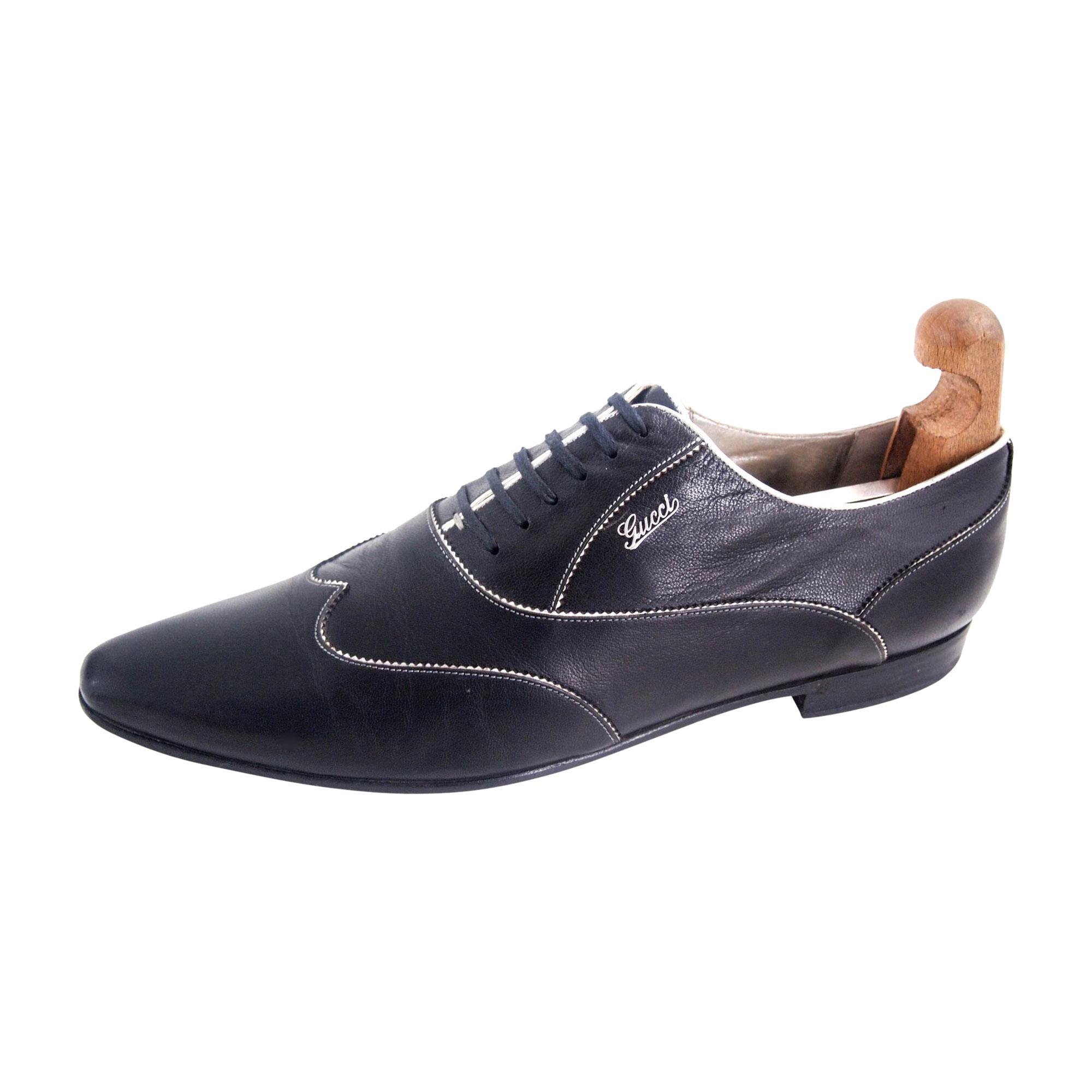Chaussures à lacets GUCCI Noir