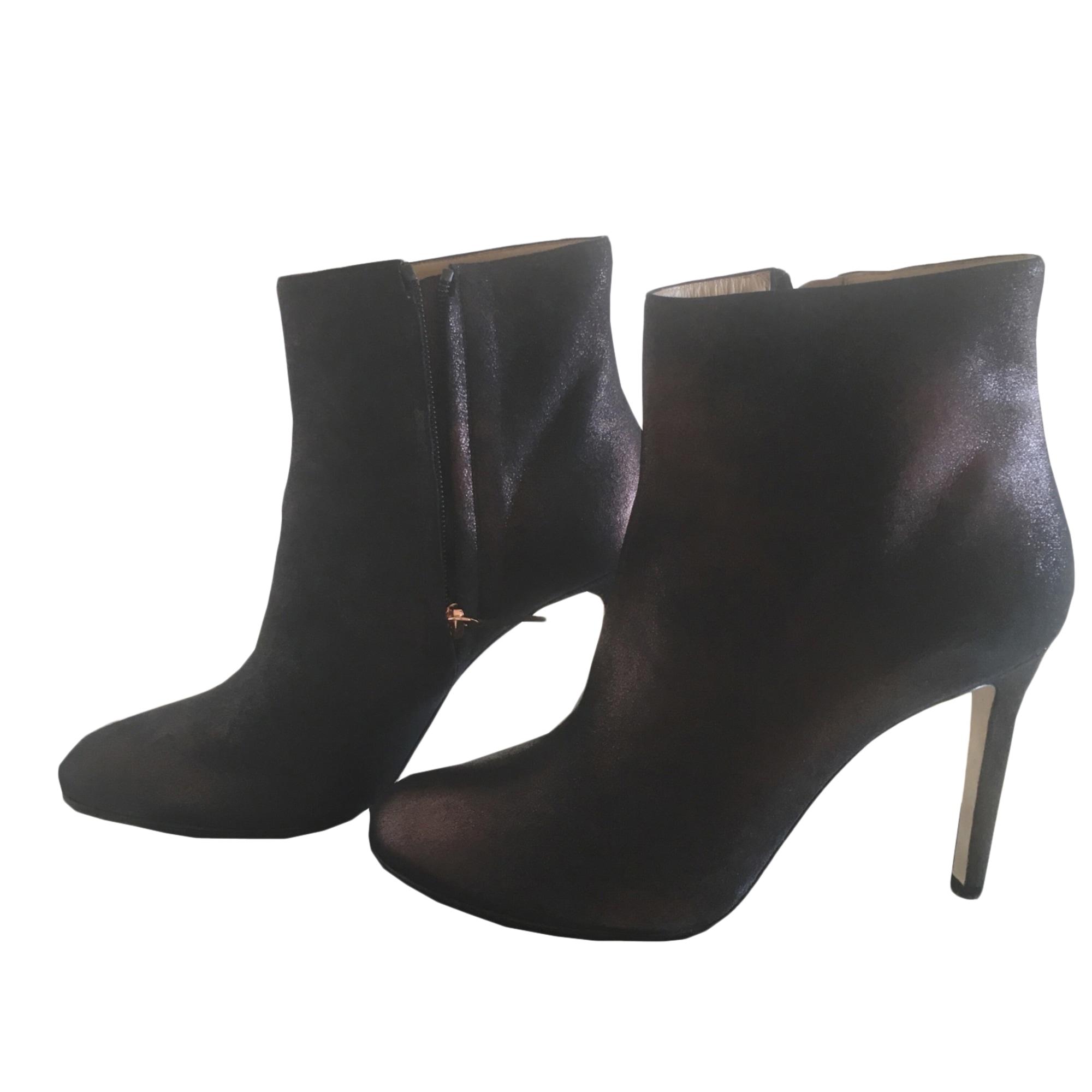 Bottines & low boots à talons REPETTO Marron cuivré/noir