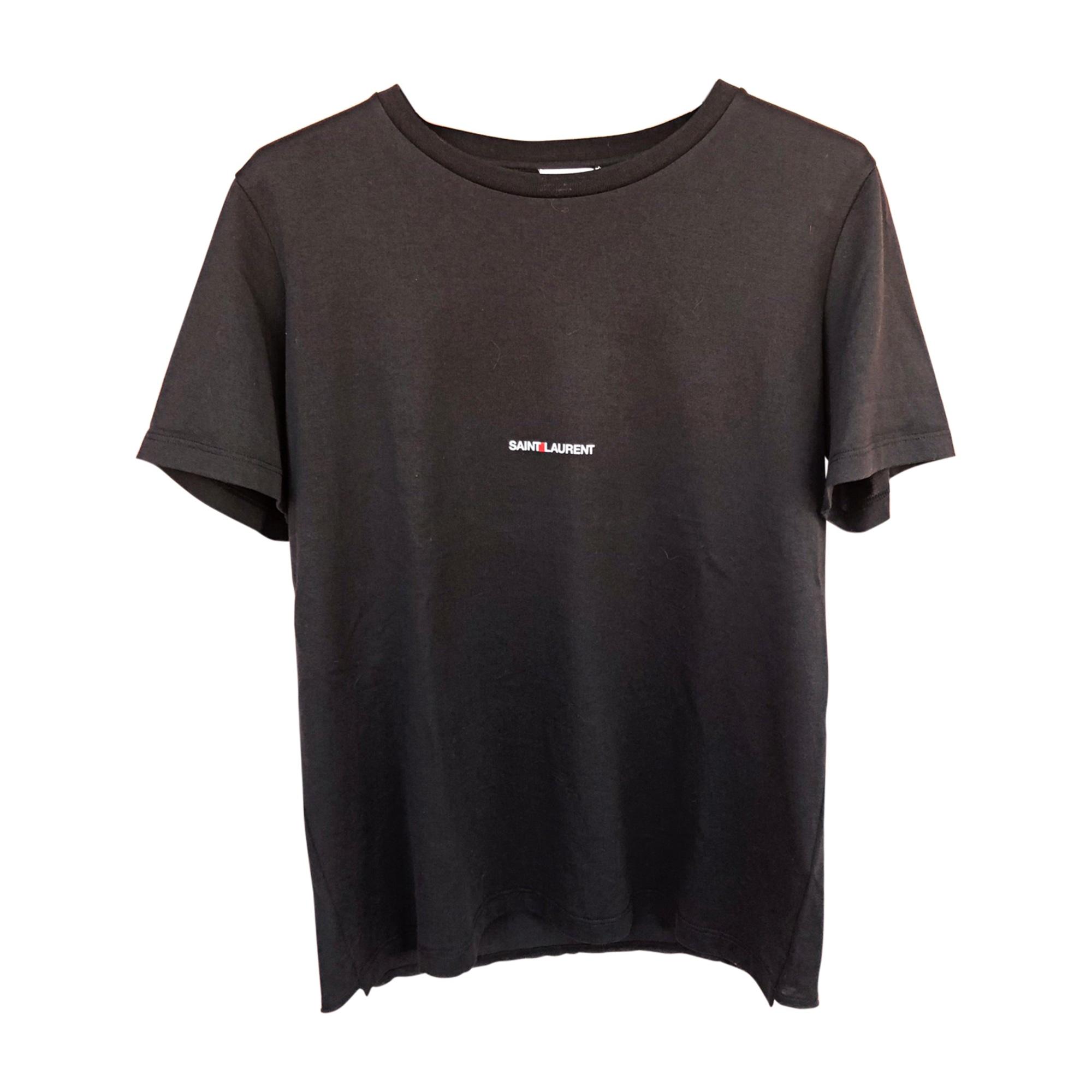 Top, T-shirt SAINT LAURENT Black