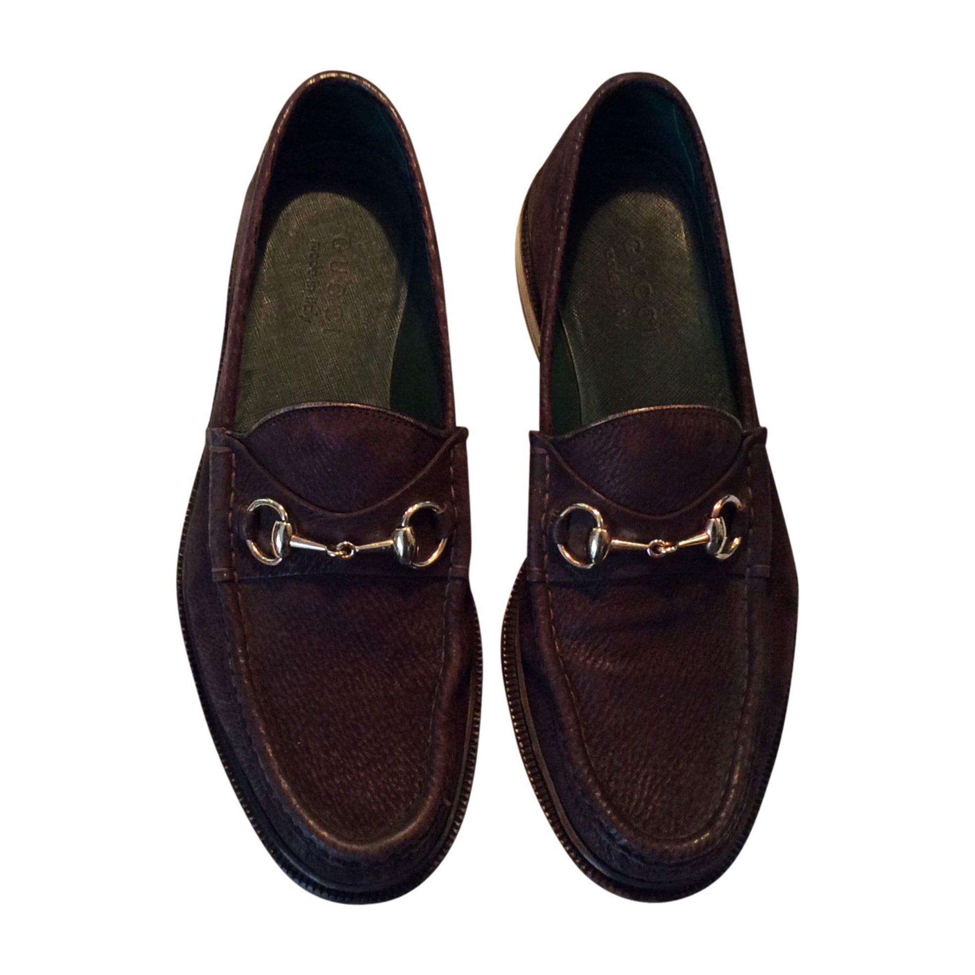 Mocassins GUCCI Marron