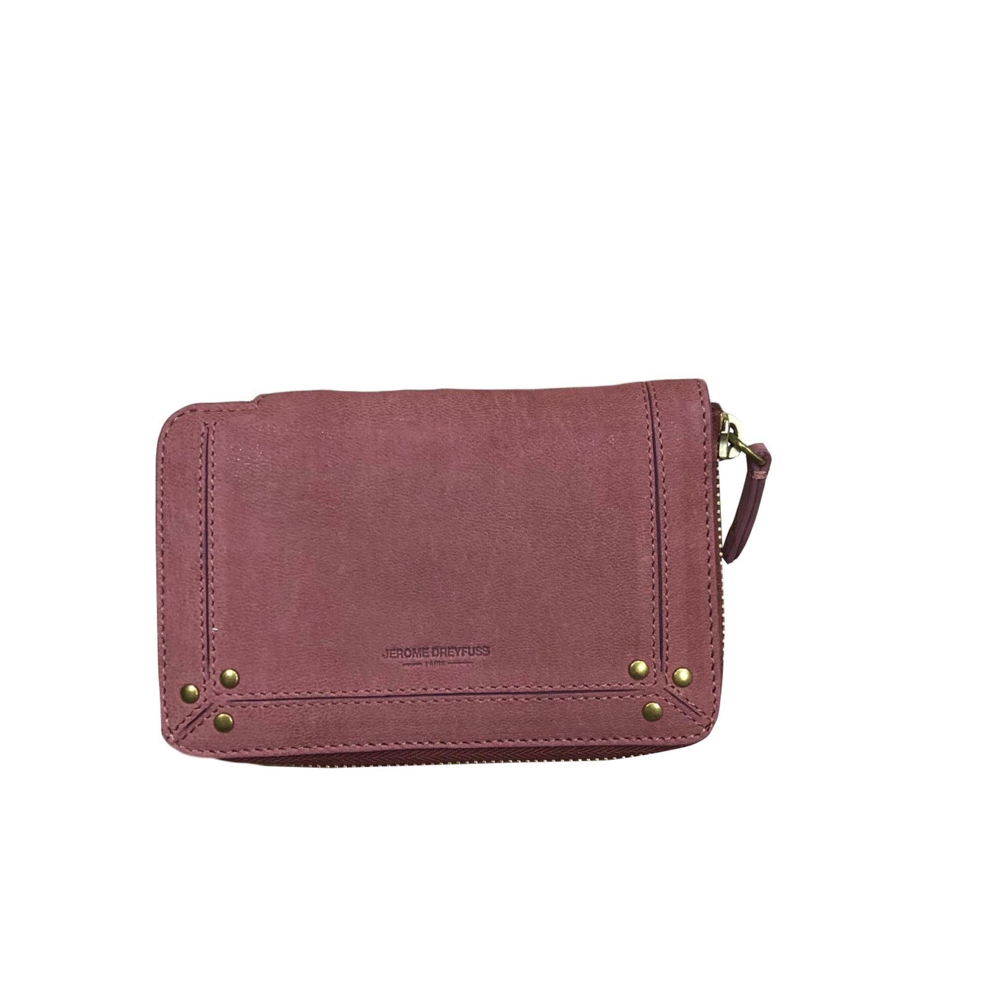 Wallet JEROME DREYFUSS Pink, fuchsia, light pink