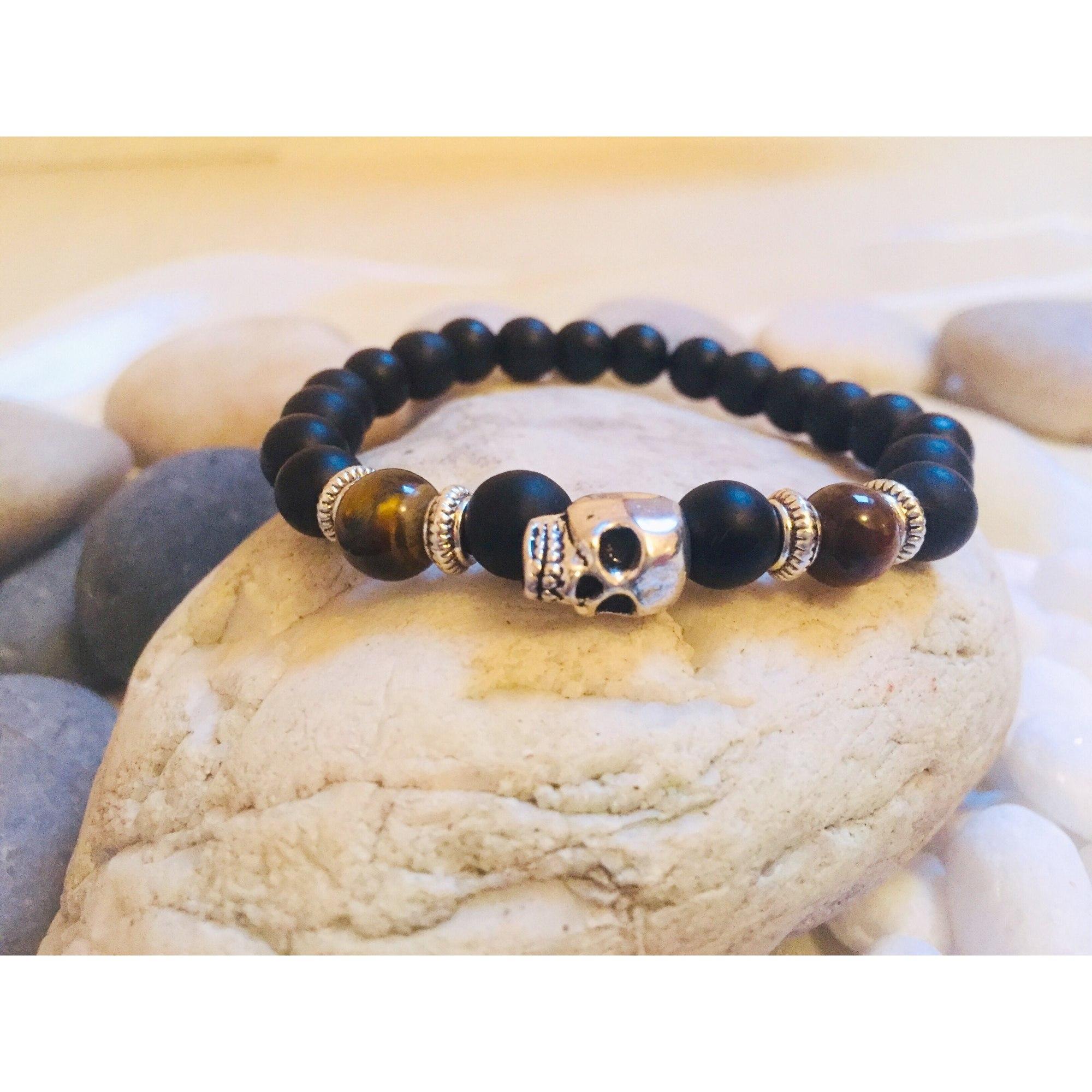 Bracelet MC CREATIONS perle noir