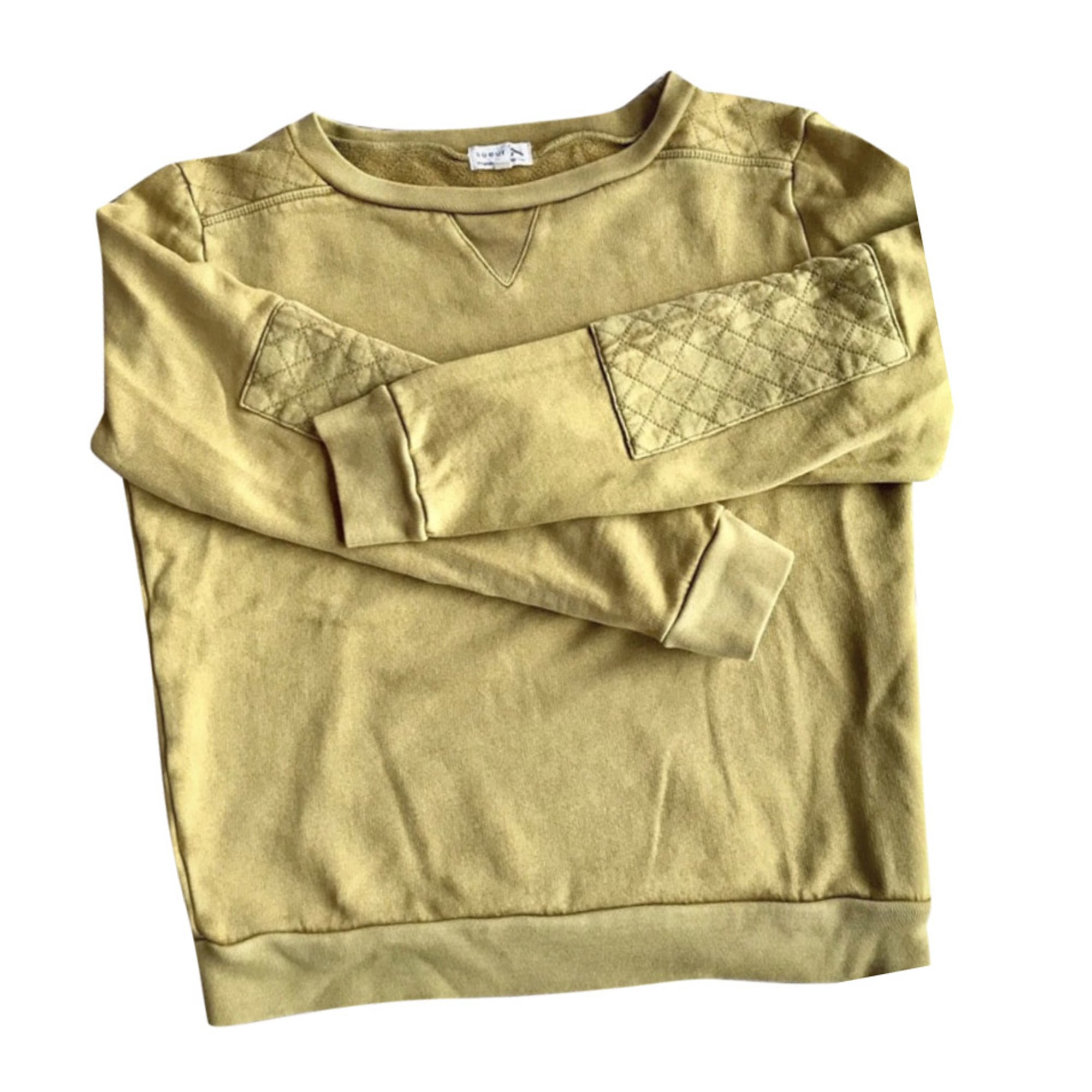 Sweatshirt SOEUR Moutarde
