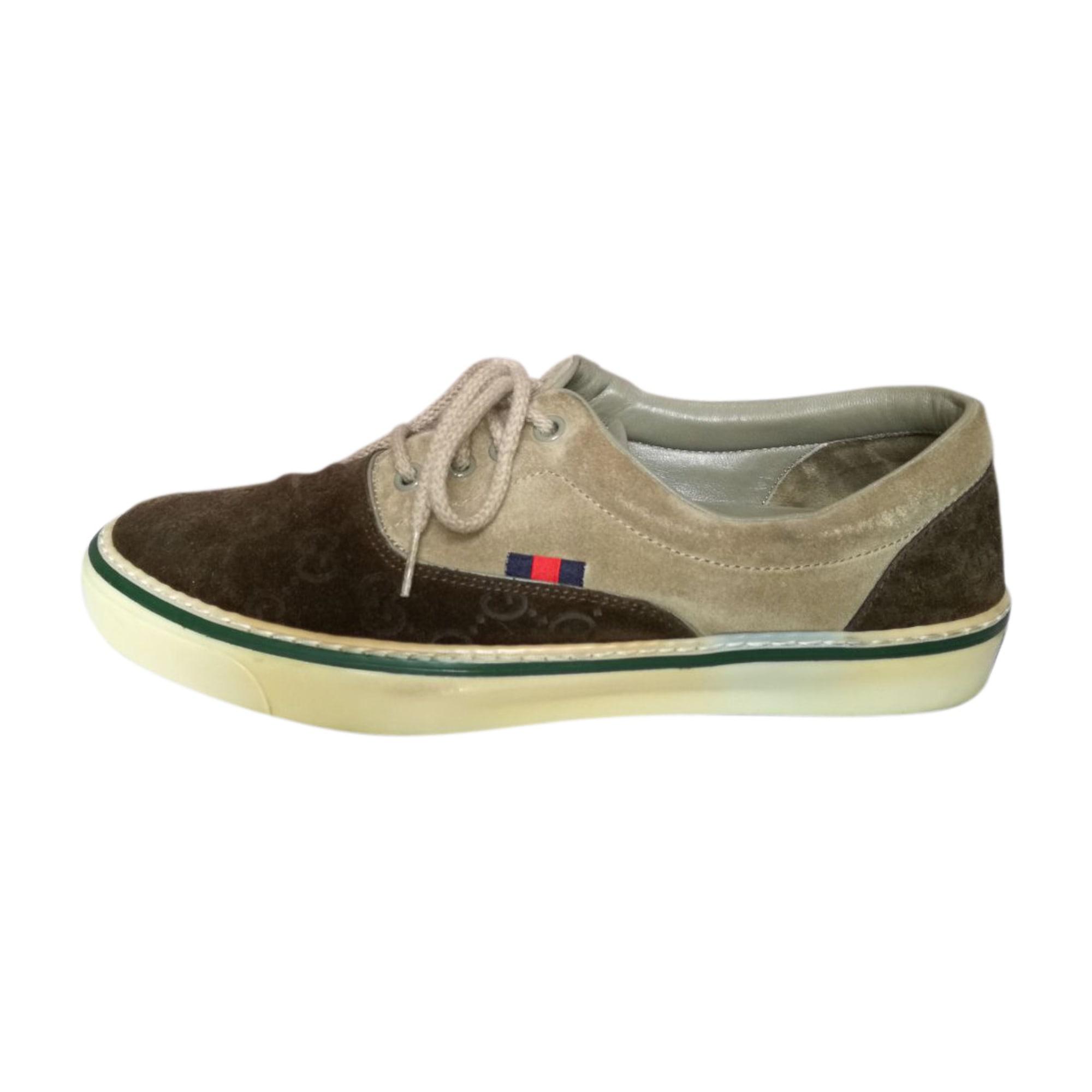 2269d7986f6 Chaussures de sport GUCCI 40 marron - 8645561