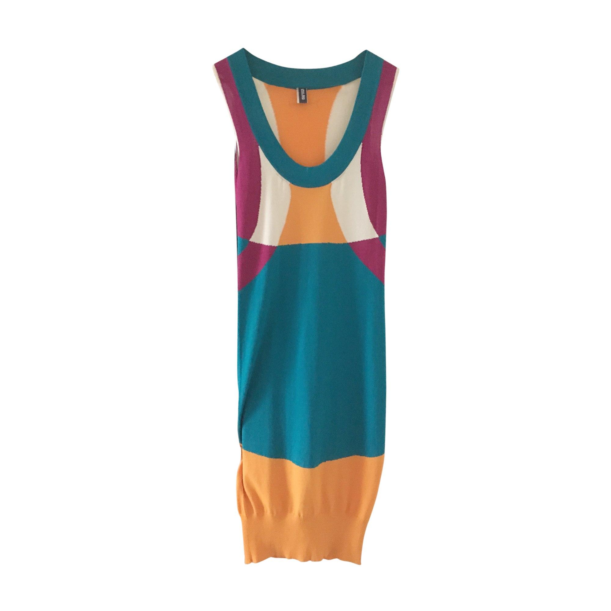 b69b924ff8f Robe mi-longue JEAN PAUL GAULTIER Turquoise