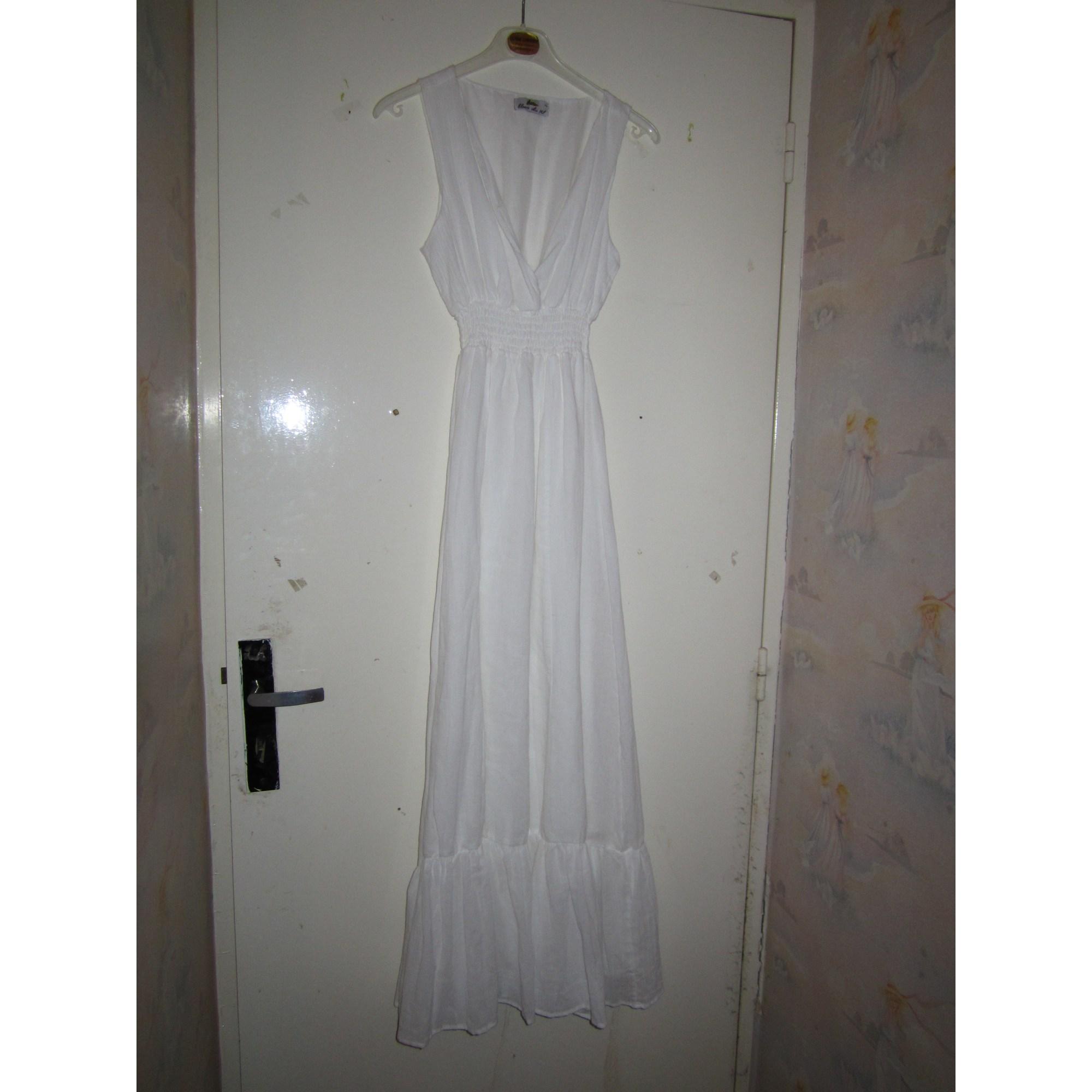 Robe longue blanc du nil