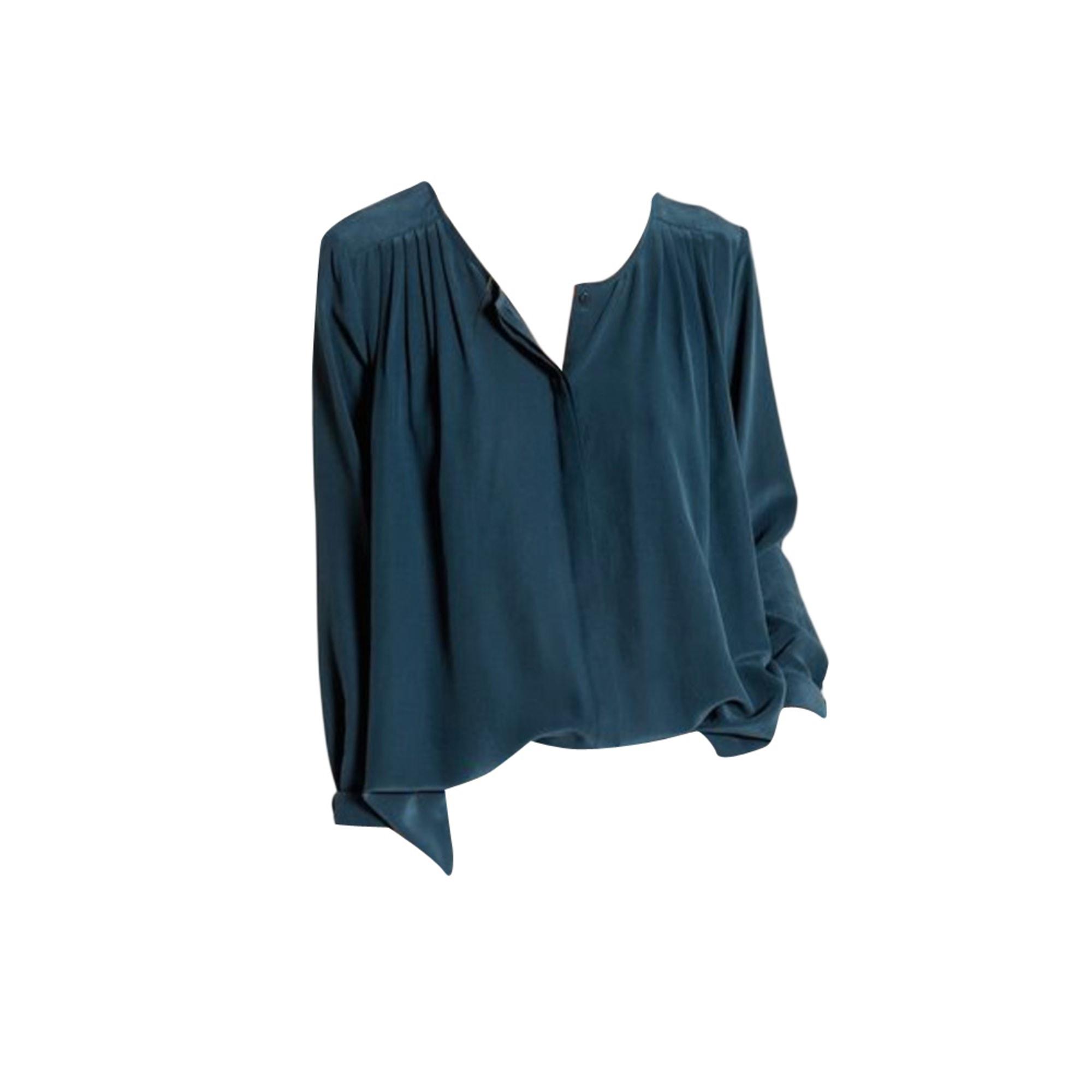 Blouse DES PETITS HAUTS Blue, navy, turquoise