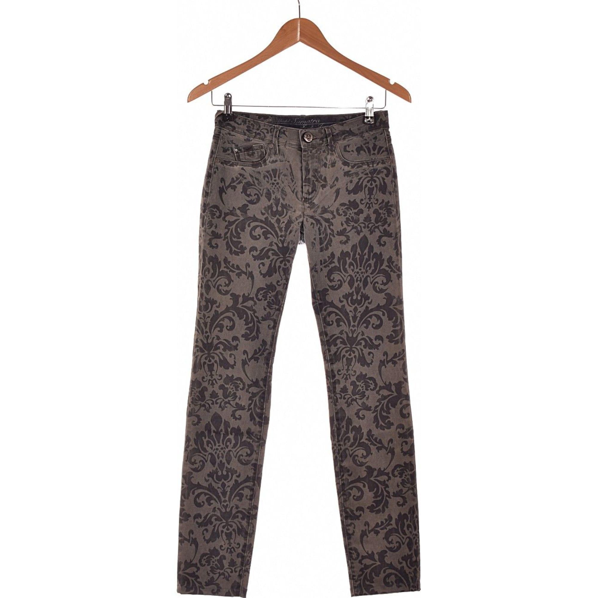 Jeans slim GAS Gris, anthracite