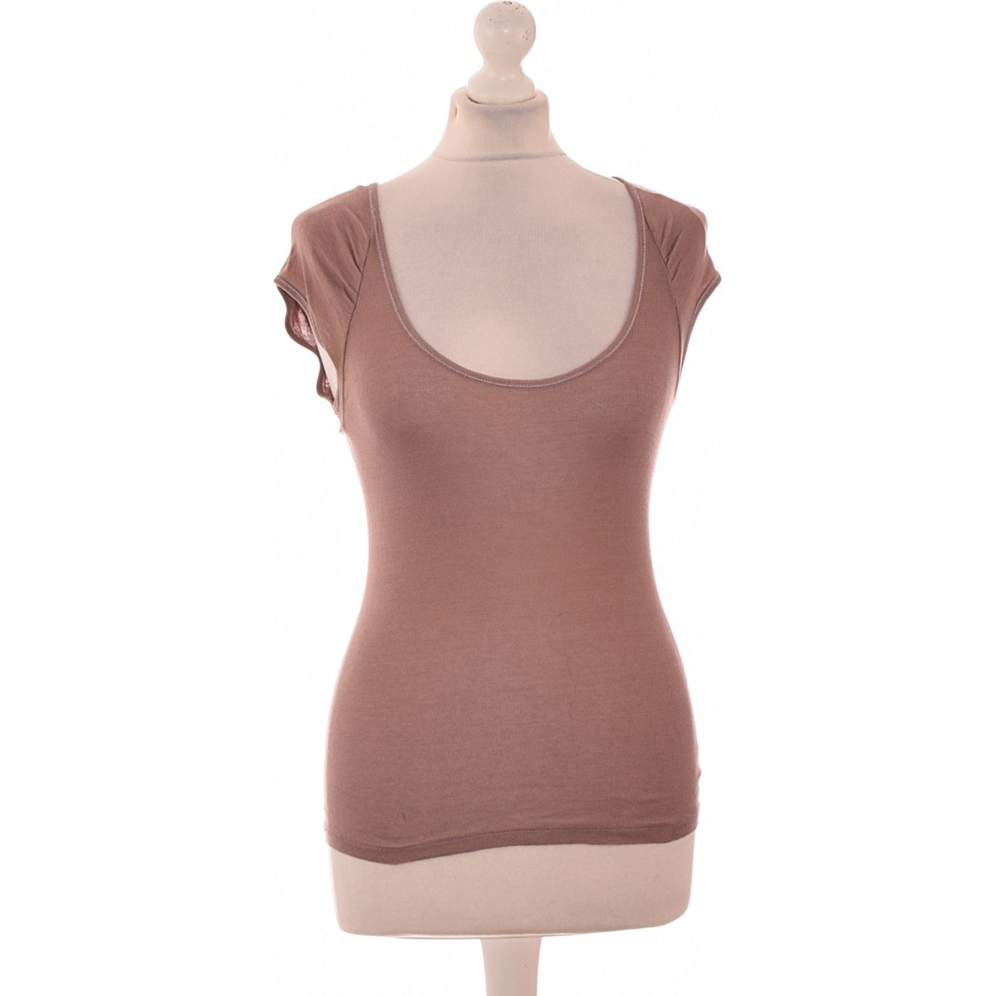 Top, T-shirt VANESSA BRUNO Pink, fuchsia, light pink