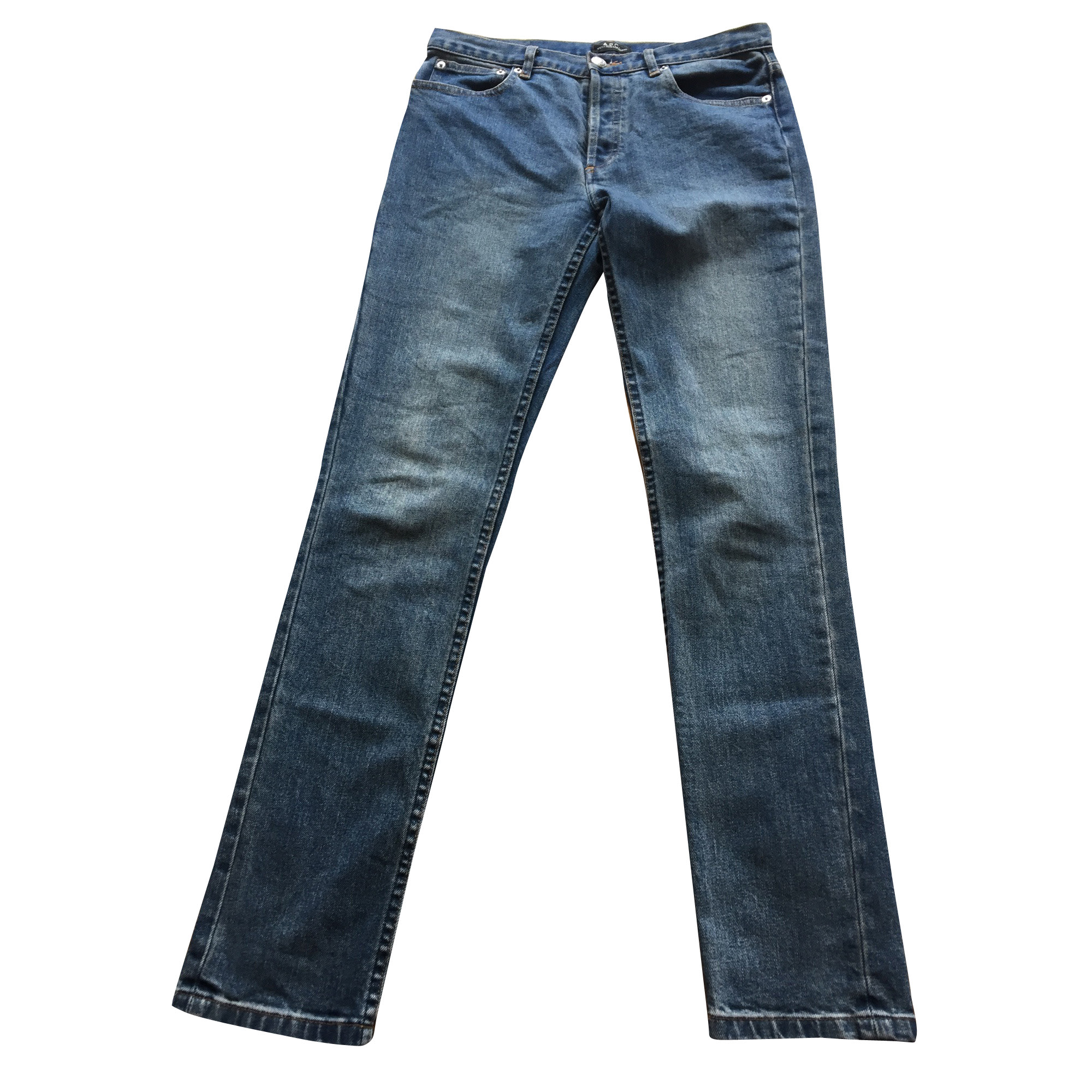 Jeans slim A.P.C. Blu, blu navy, turchese