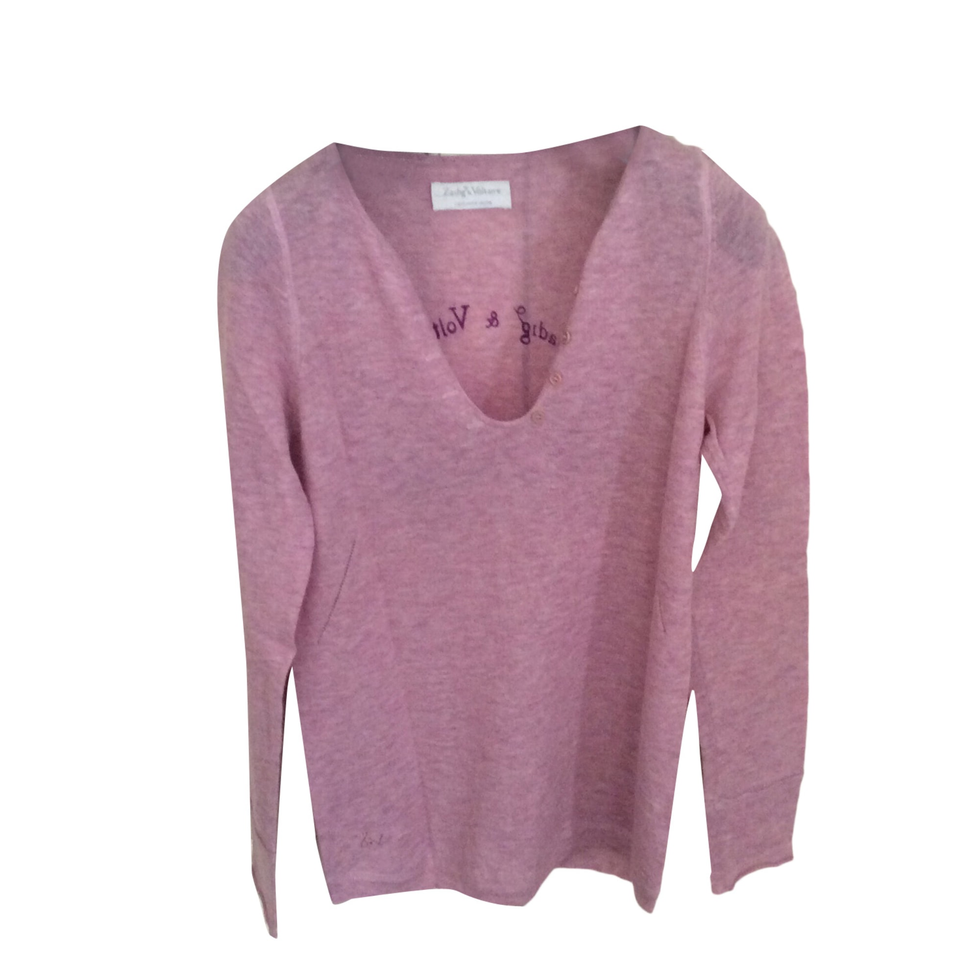 Sweater ZADIG & VOLTAIRE Pink, fuchsia, light pink