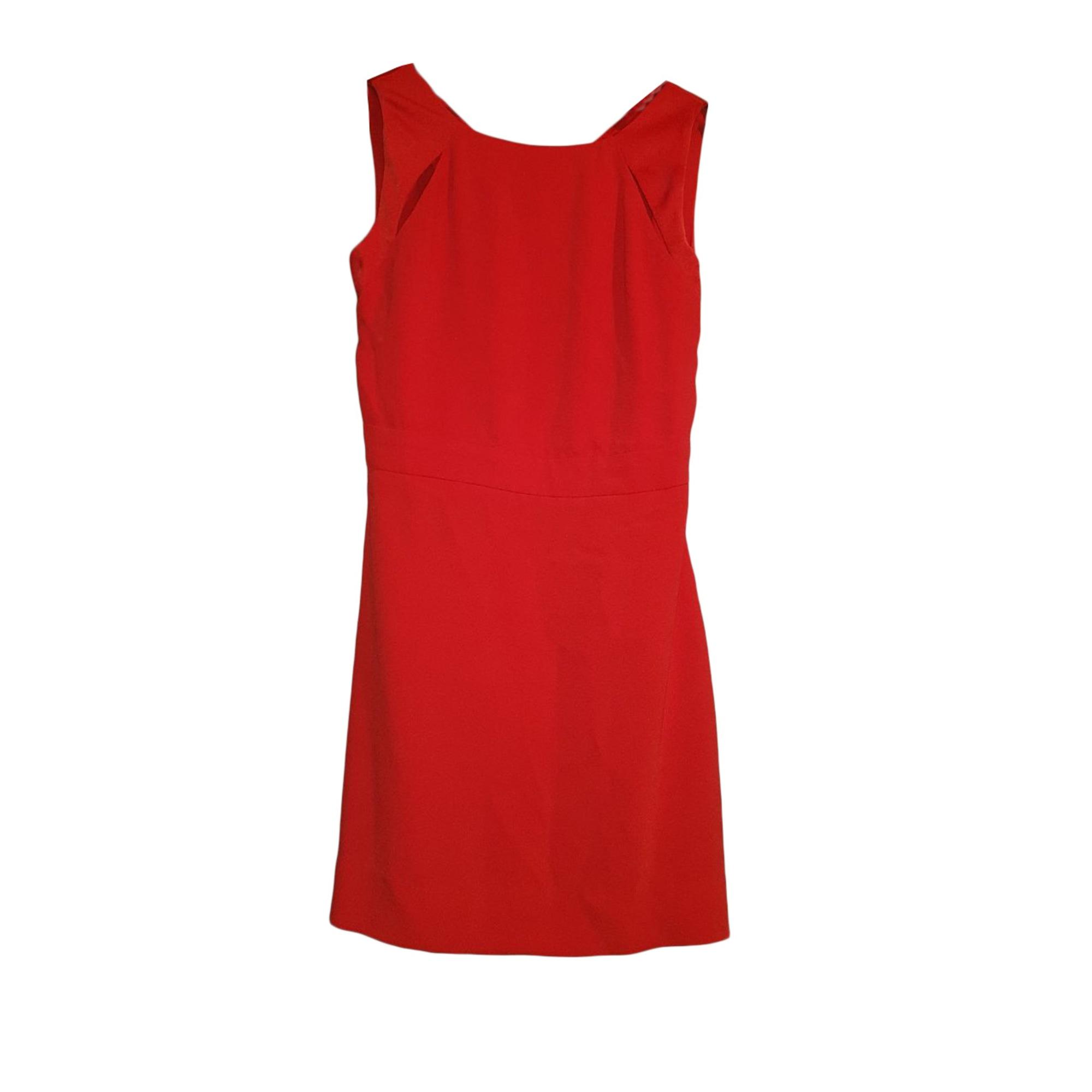 Mini Dress MAJE Red, burgundy