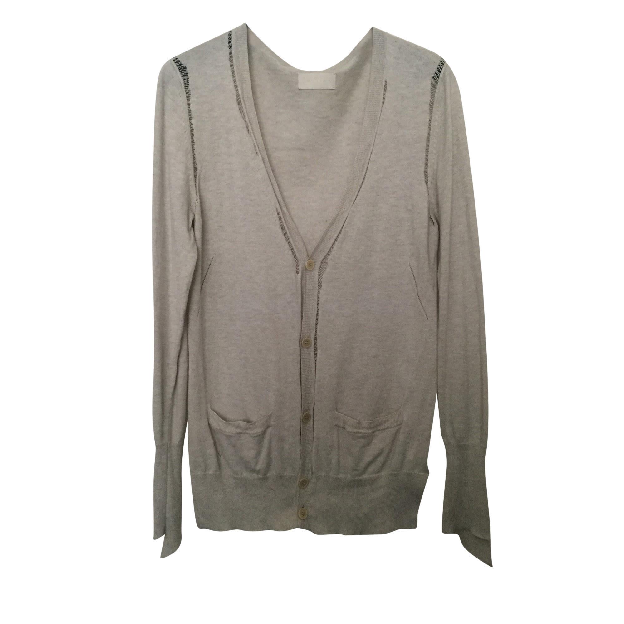 Vest, Cardigan ZADIG & VOLTAIRE Beige, camel