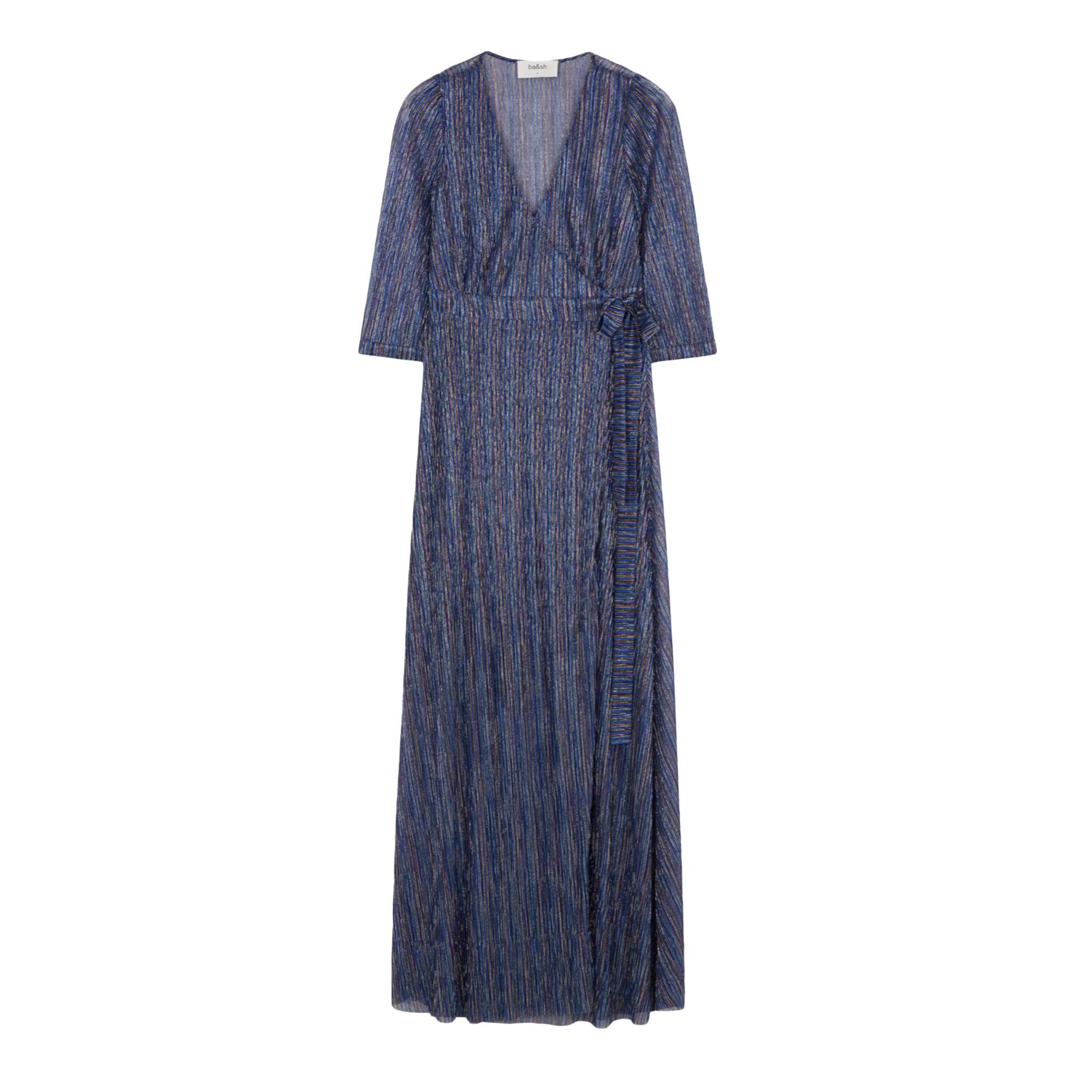 Maxi Dress BA&SH Blue, navy, turquoise