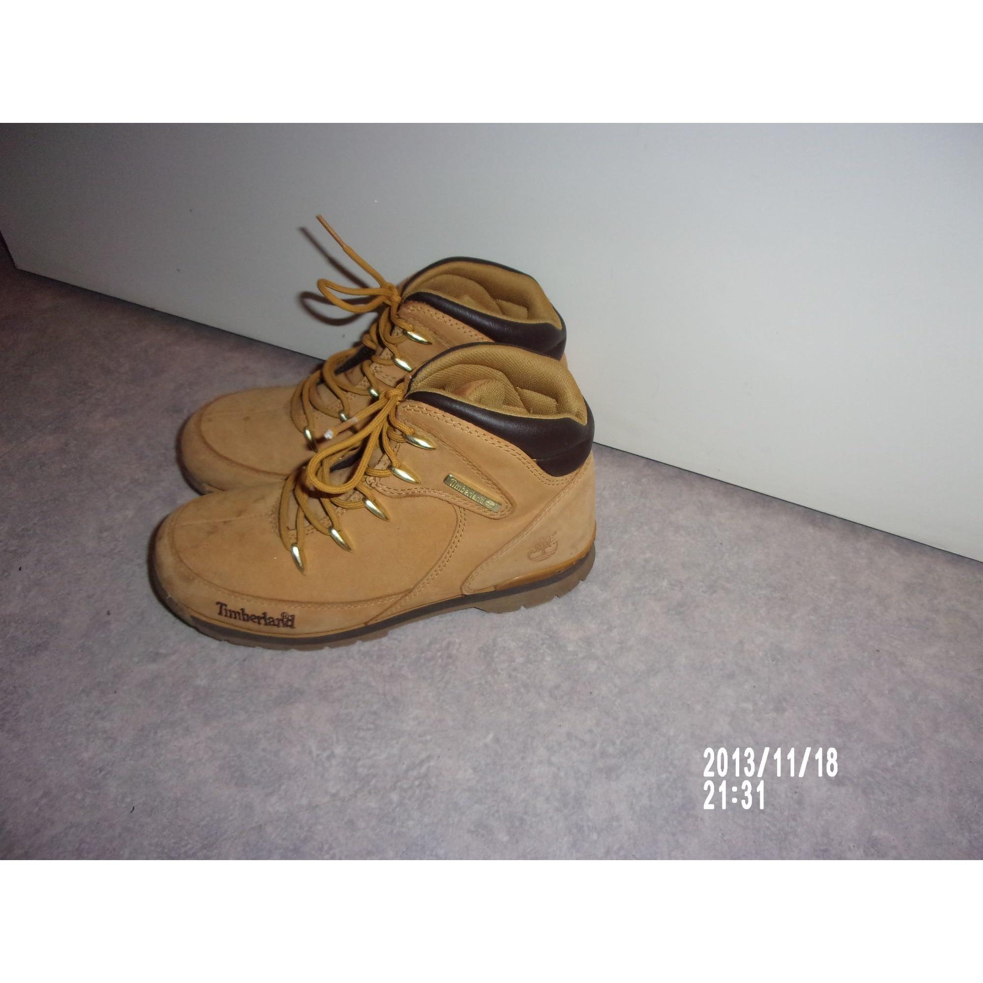 À Jaune 8660077 Timberland Lacets 36 Chaussures 54cals3rjq mNn08w