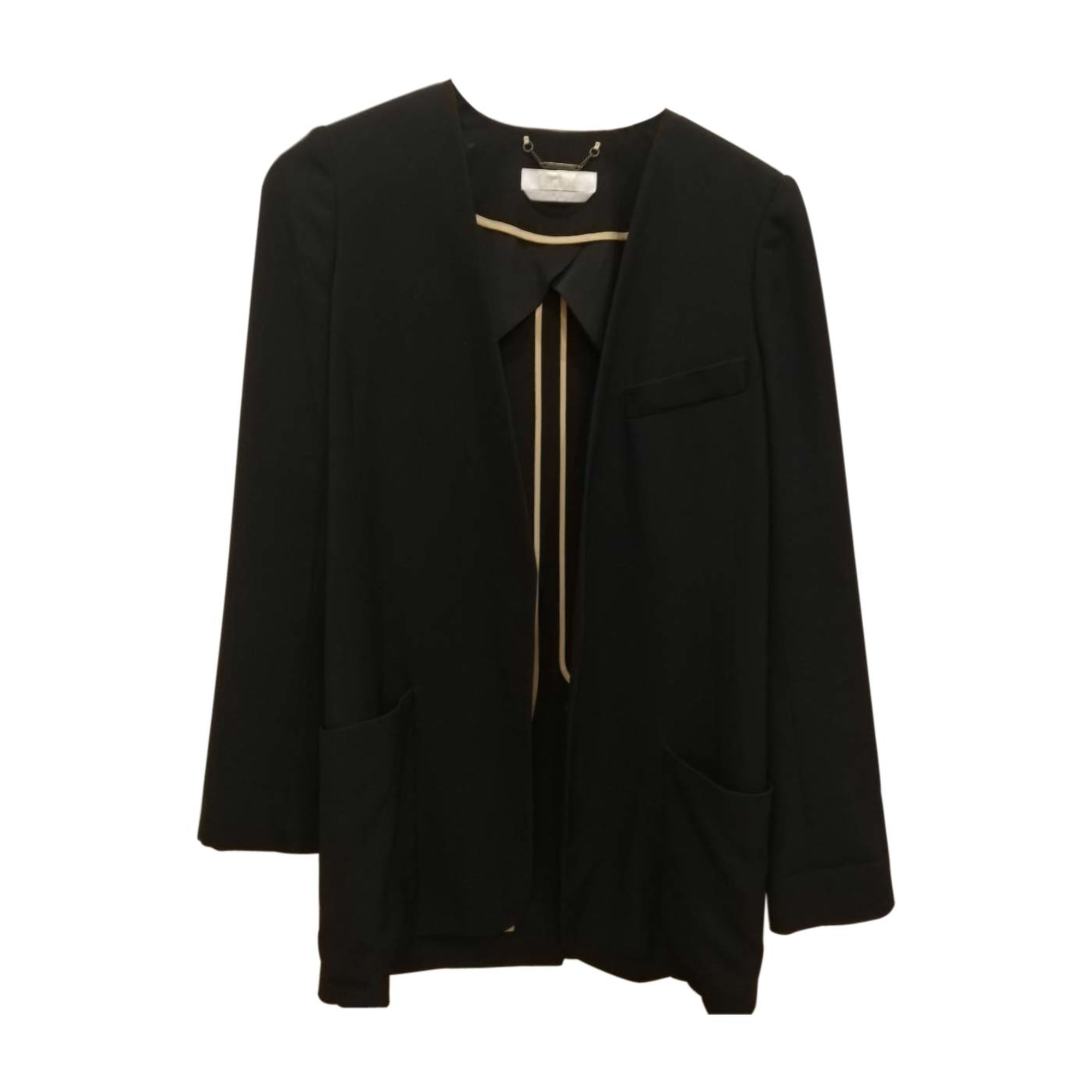 Blazer, veste tailleur CHLOÉ Noir