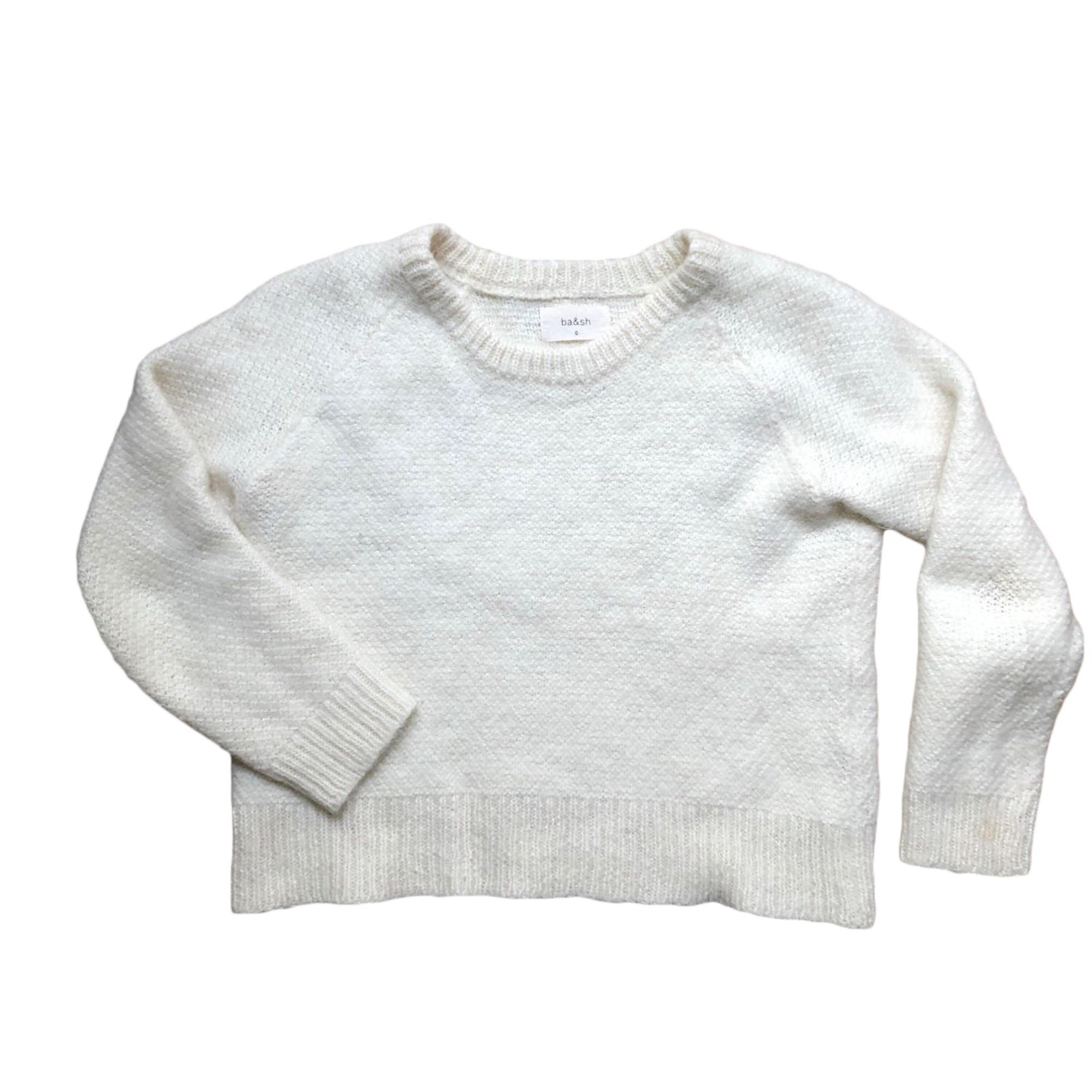 Sweater BA&SH White, off-white, ecru