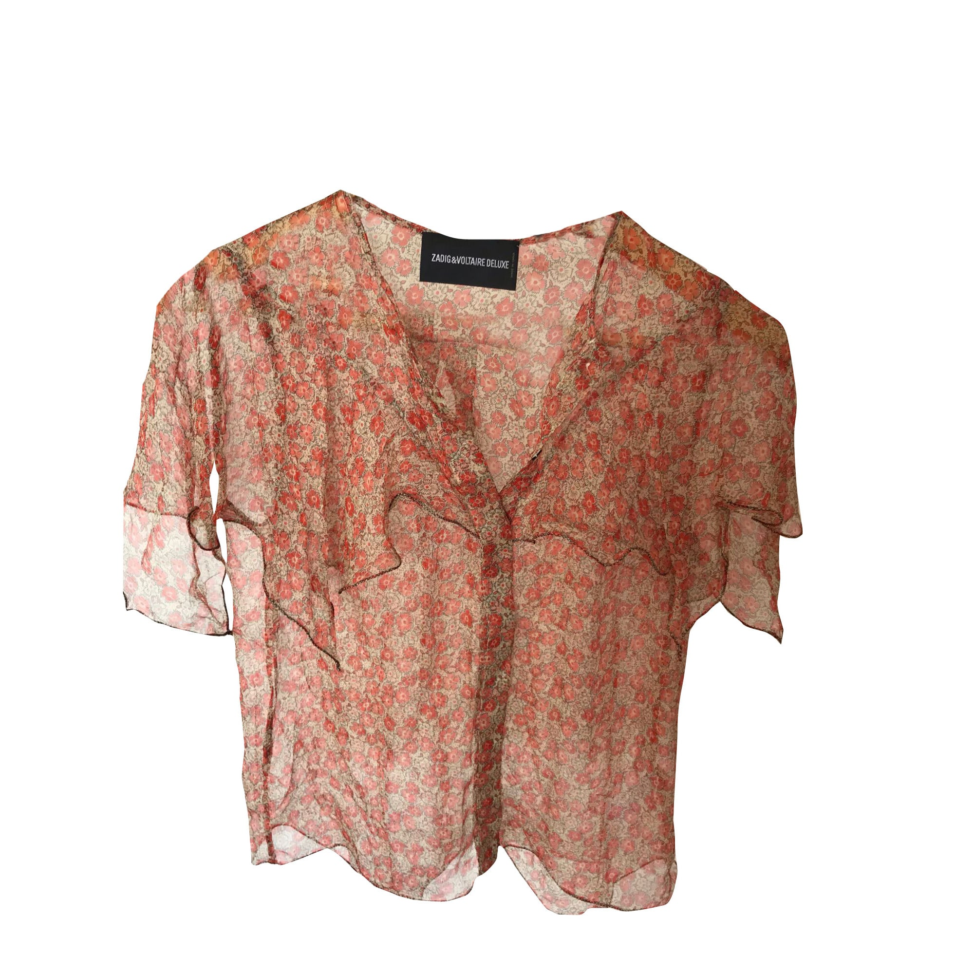 Chemise ZADIG & VOLTAIRE Corail