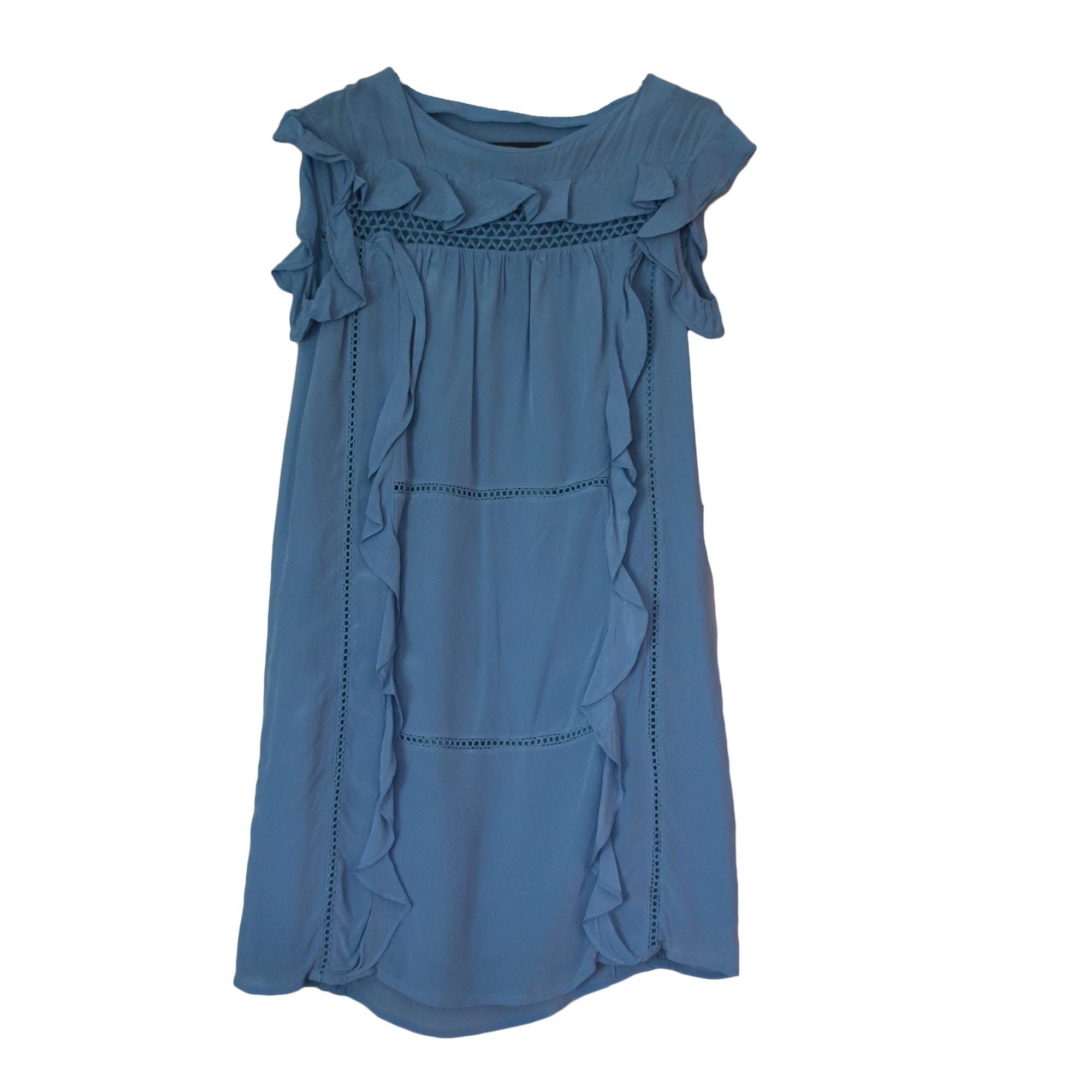 Abito a media lunghezza CLAUDIE PIERLOT Blu, blu navy, turchese