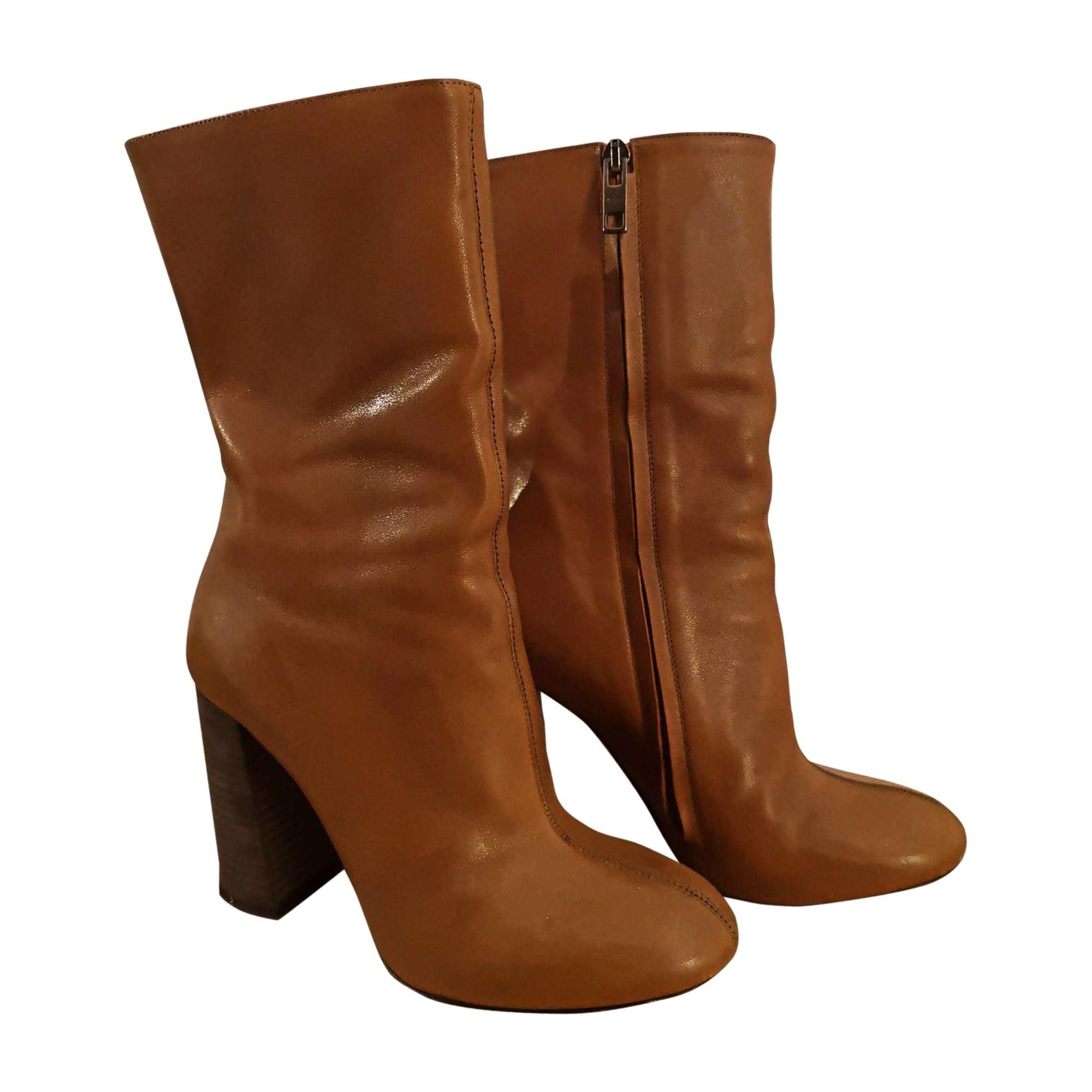 Bottines & low boots à talons CHLOÉ Marron