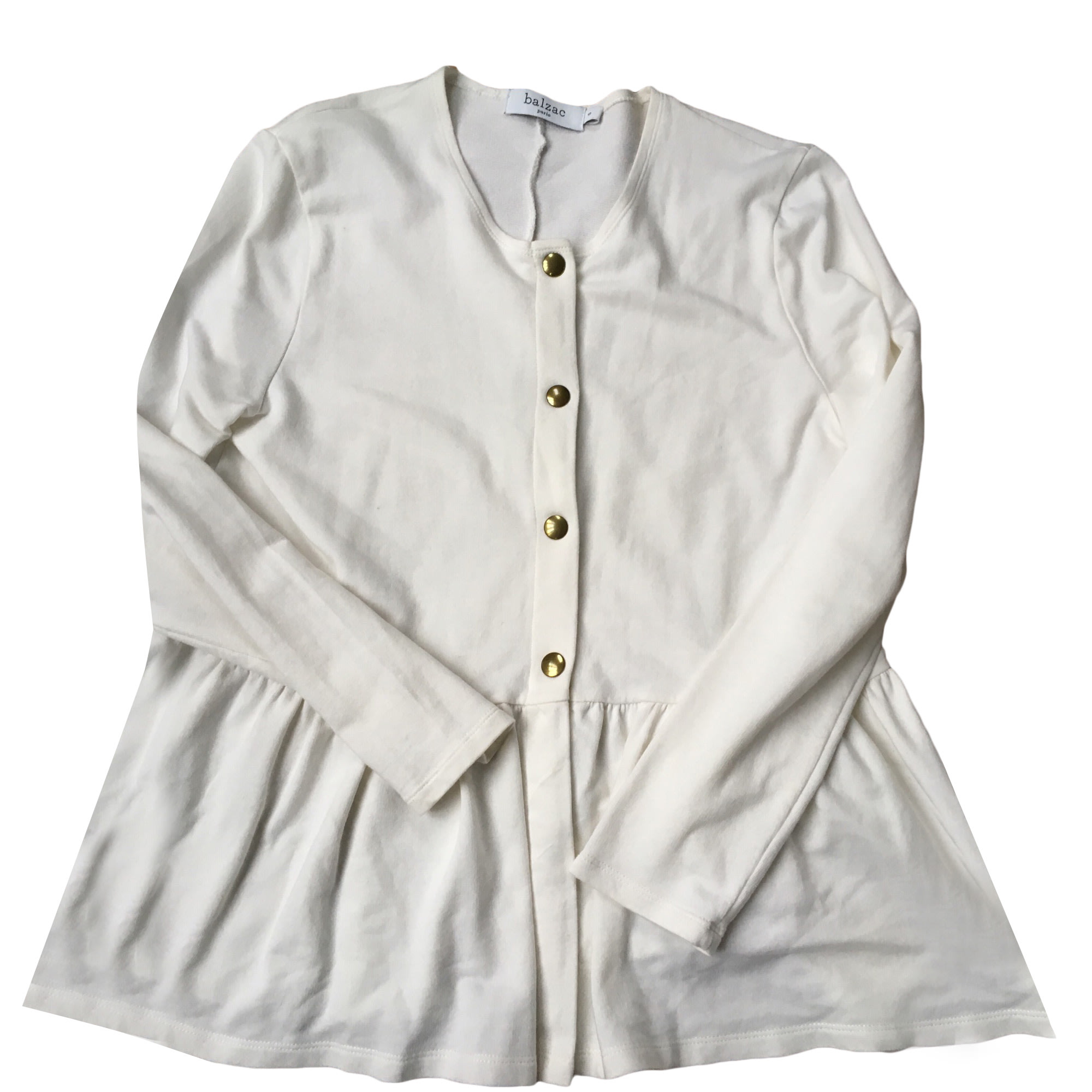 Vest, Cardigan BALZAC PARIS White, off-white, ecru