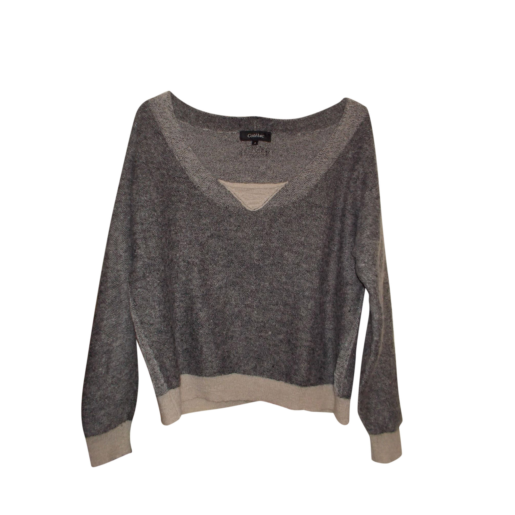 Sweater COTÉLAC Gray, charcoal