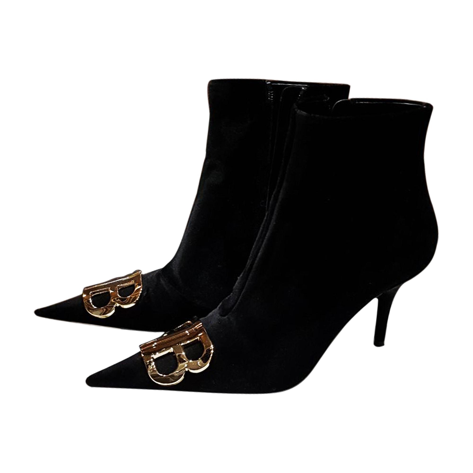 High Heel Ankle Boots BALENCIAGA Black