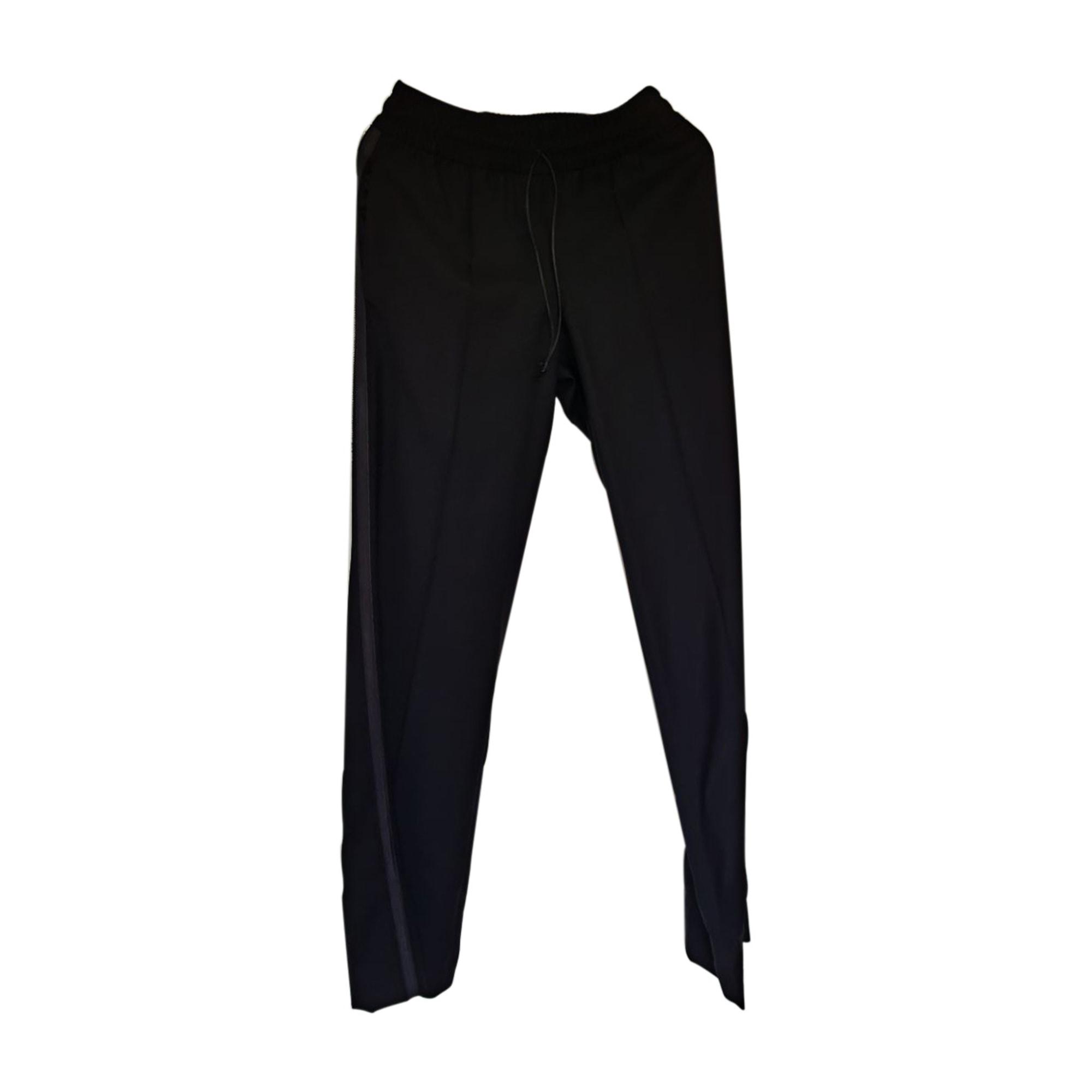 Pantalon droit ISABEL MARANT Noir