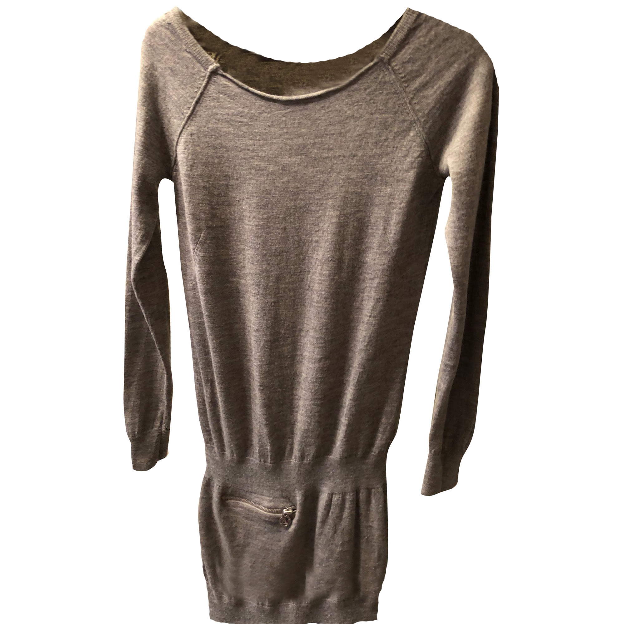 Tunic Dress ZADIG & VOLTAIRE Gray, charcoal