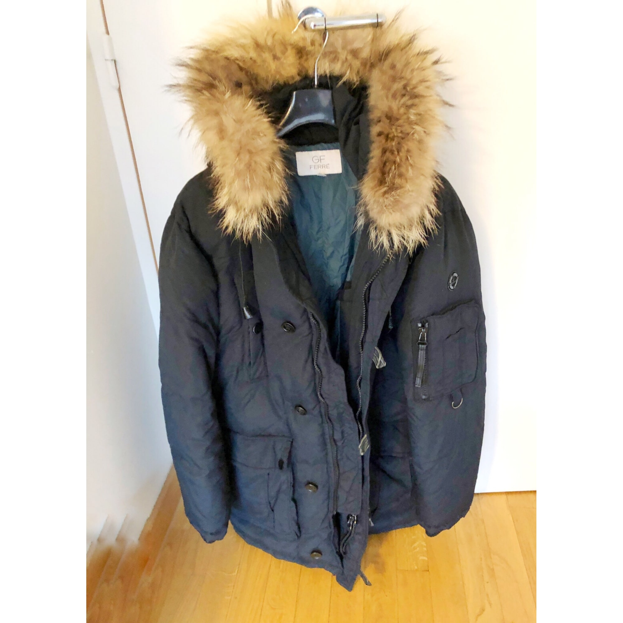 Down Jacket GIANFRANCO FERRE Black