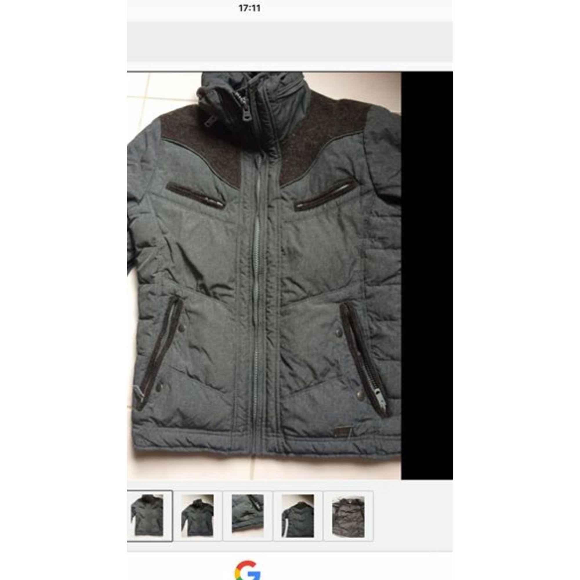 Zipped Jacket DIESEL Gray, charcoal