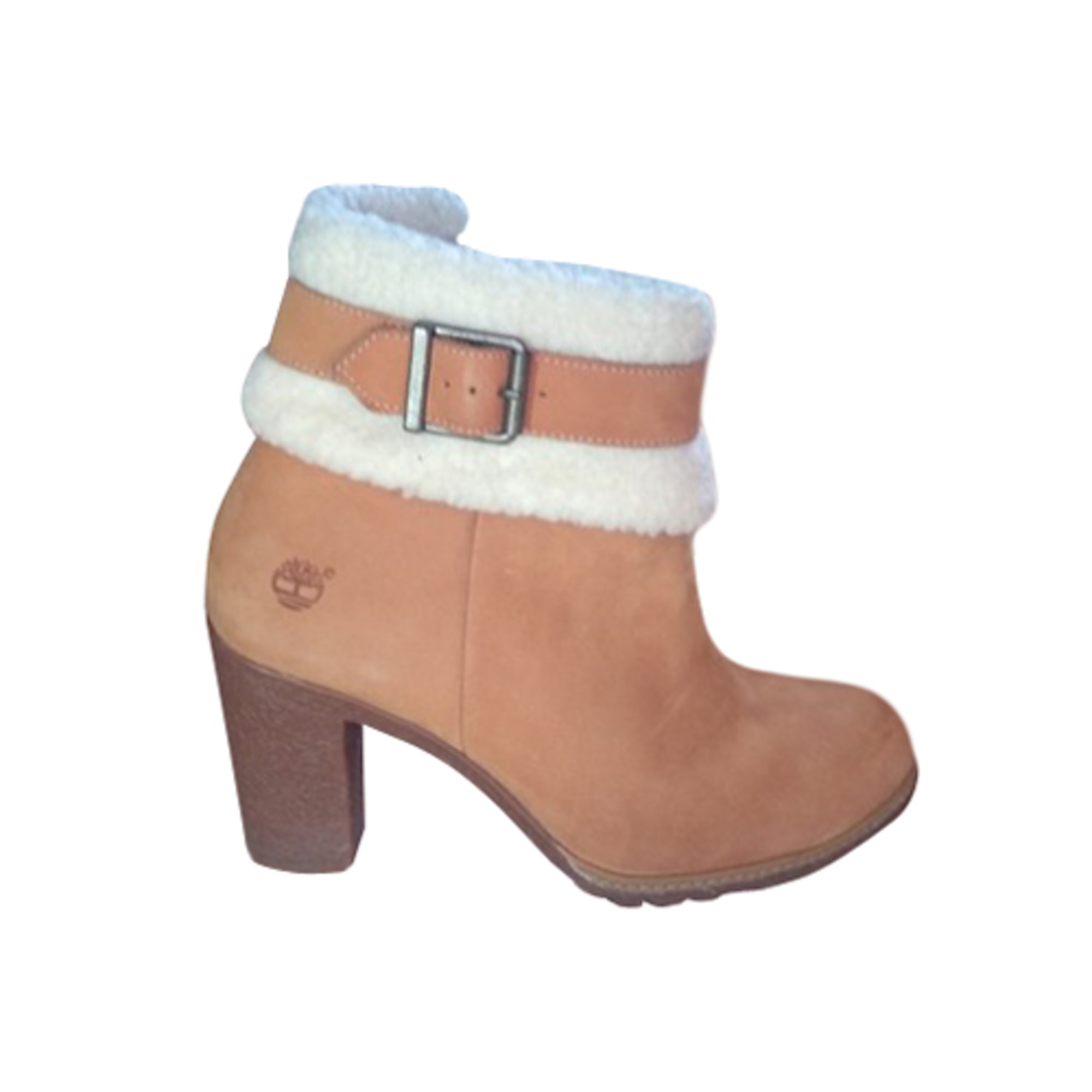 faccd19c858 Bottines   low boots à talons TIMBERLAND 40 beige - 8672426