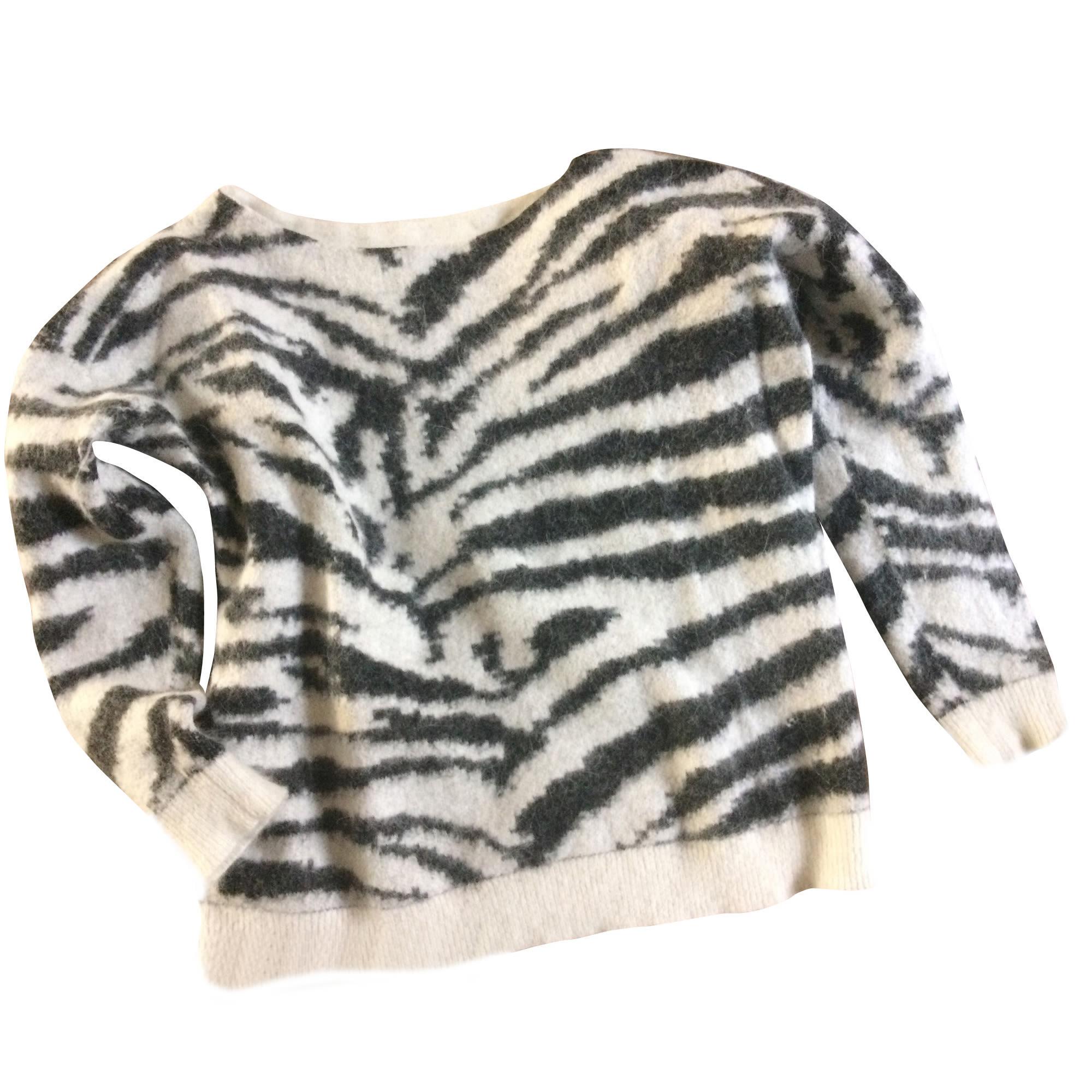 Pullover MAJE Tierprint