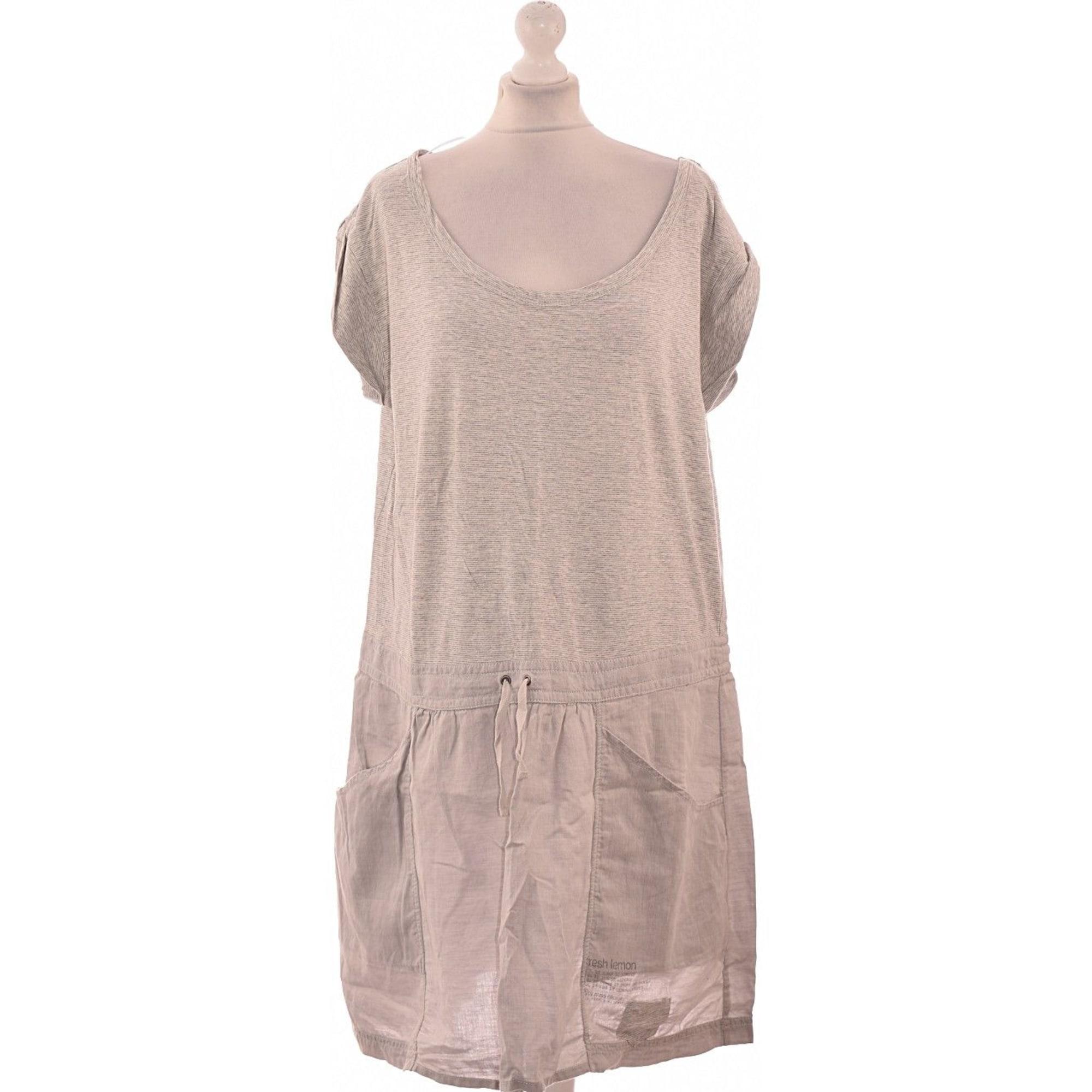 60c0df20147 Robe courte MISS CAPTAIN 48 (XXXL) gris vendu par Agnes de once ...
