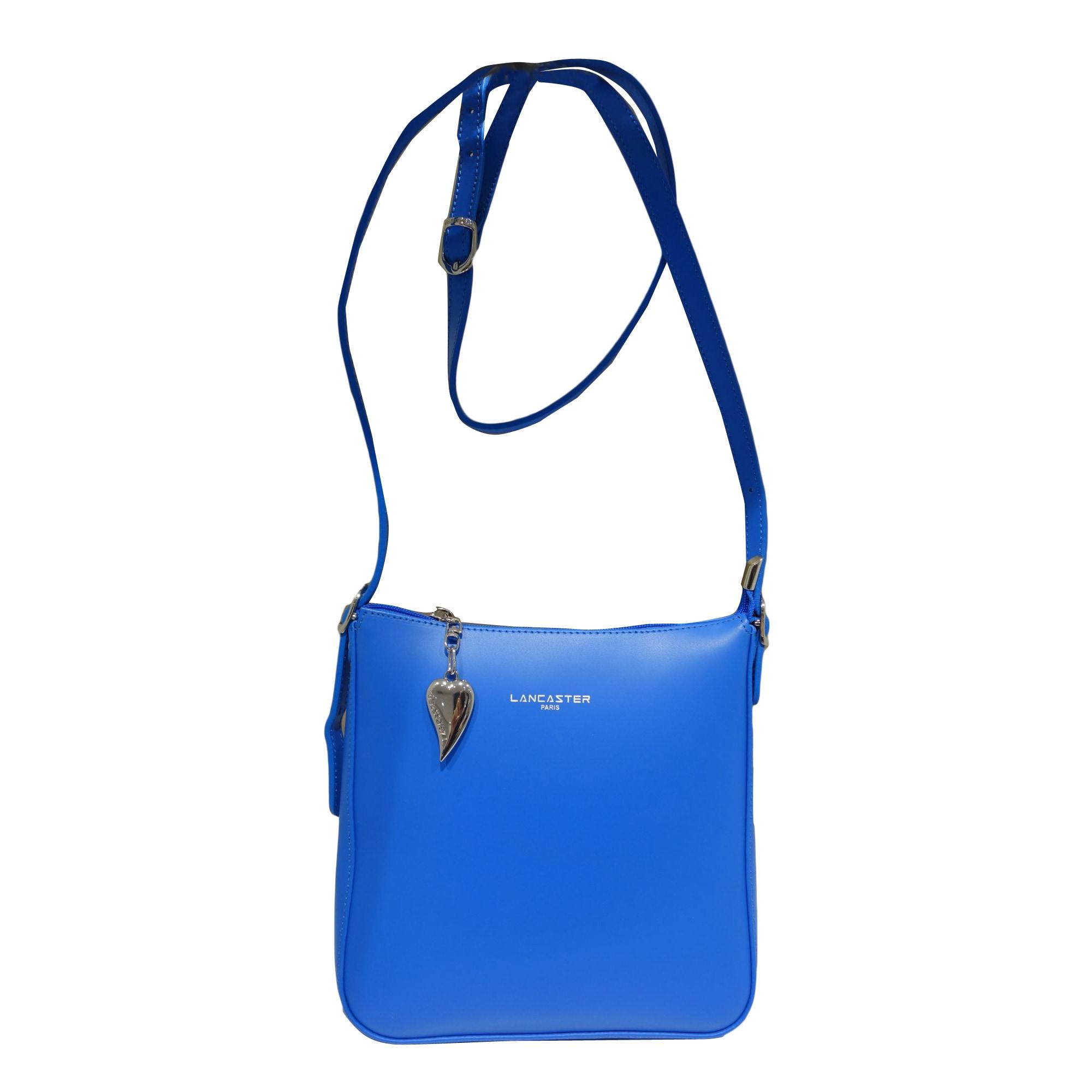 Sac Lancaster Cuir Bleu 8694078 Bandoulière En 8wNnm0